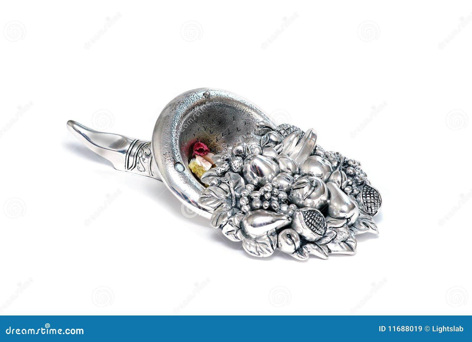 Chifre de prata da abundância