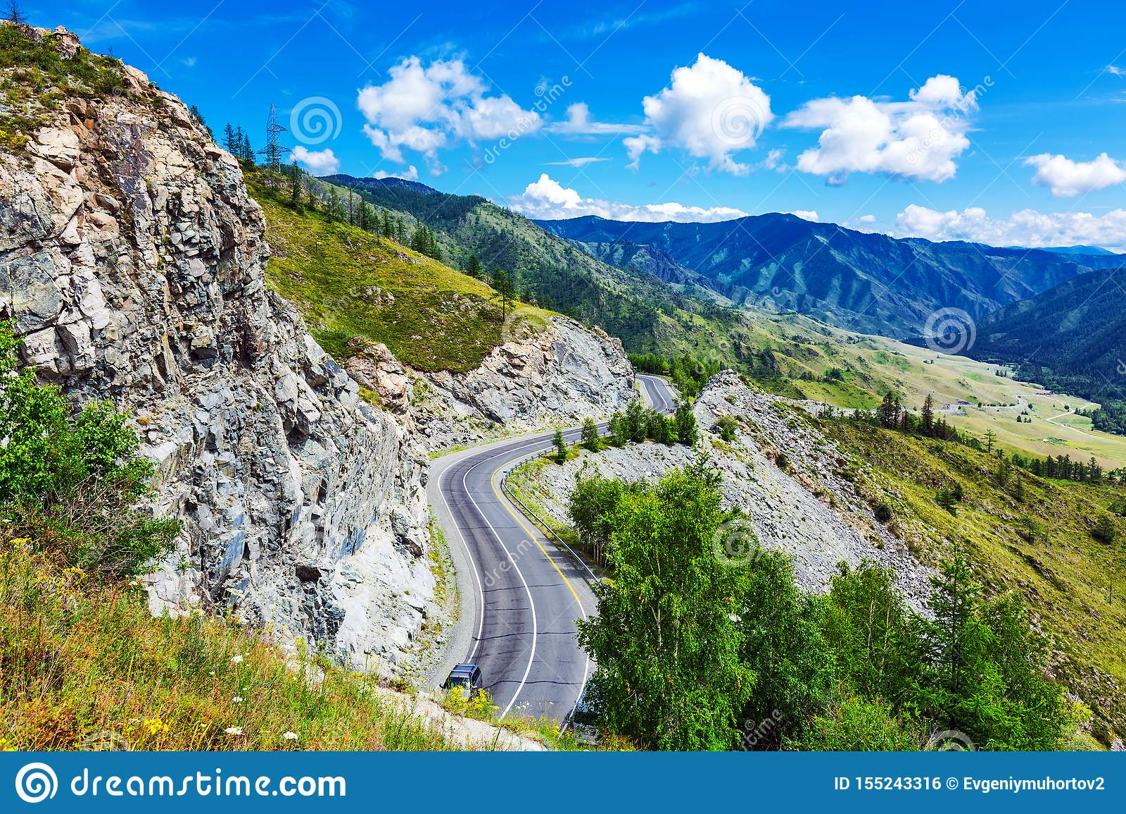 Chike - Taman bergpasserande Altai republik, Ryssland