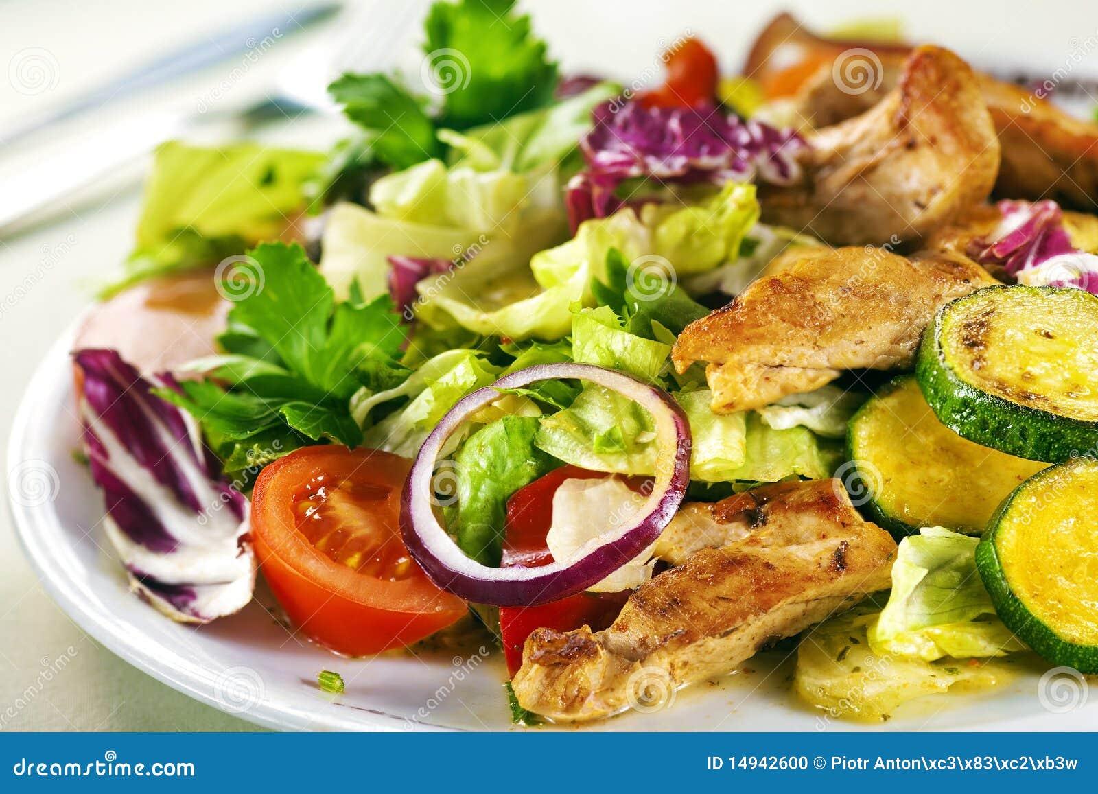 Chiken салат