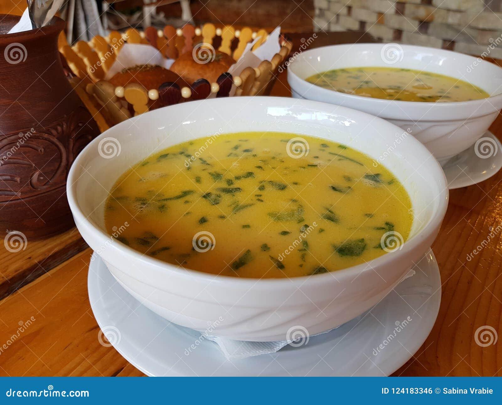 Chiken paesan soep