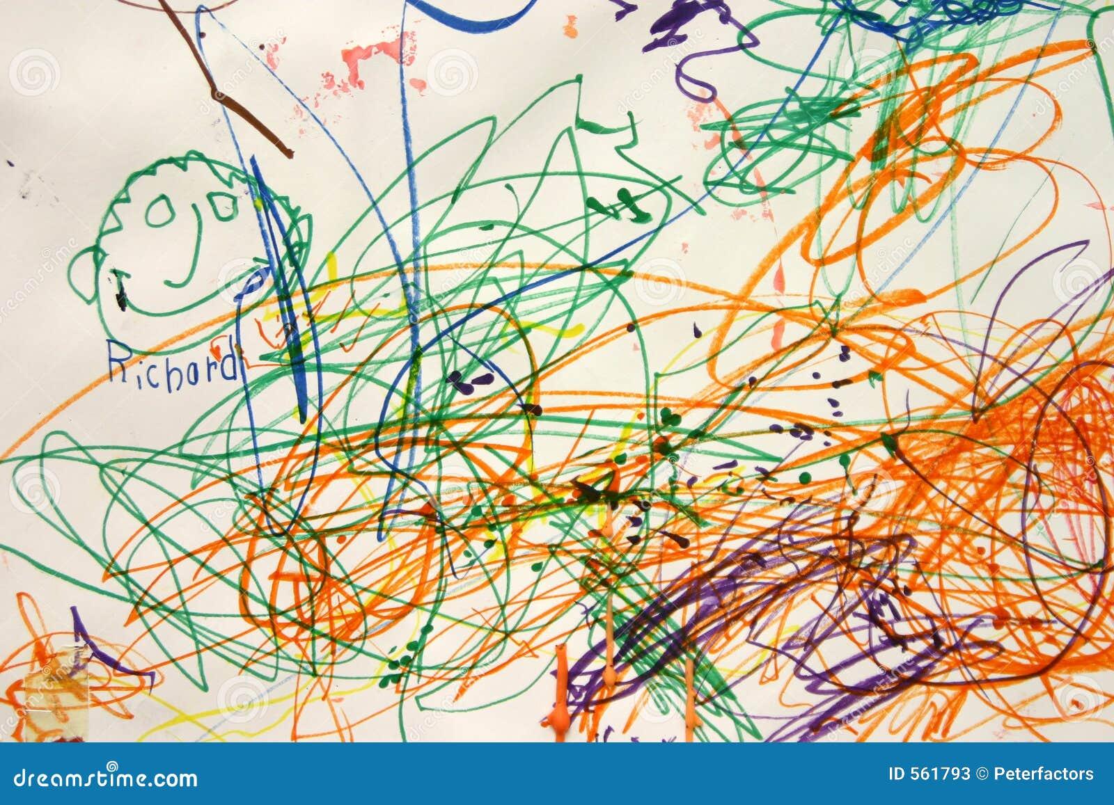 child art stock illustration illustration of burden creation 561793