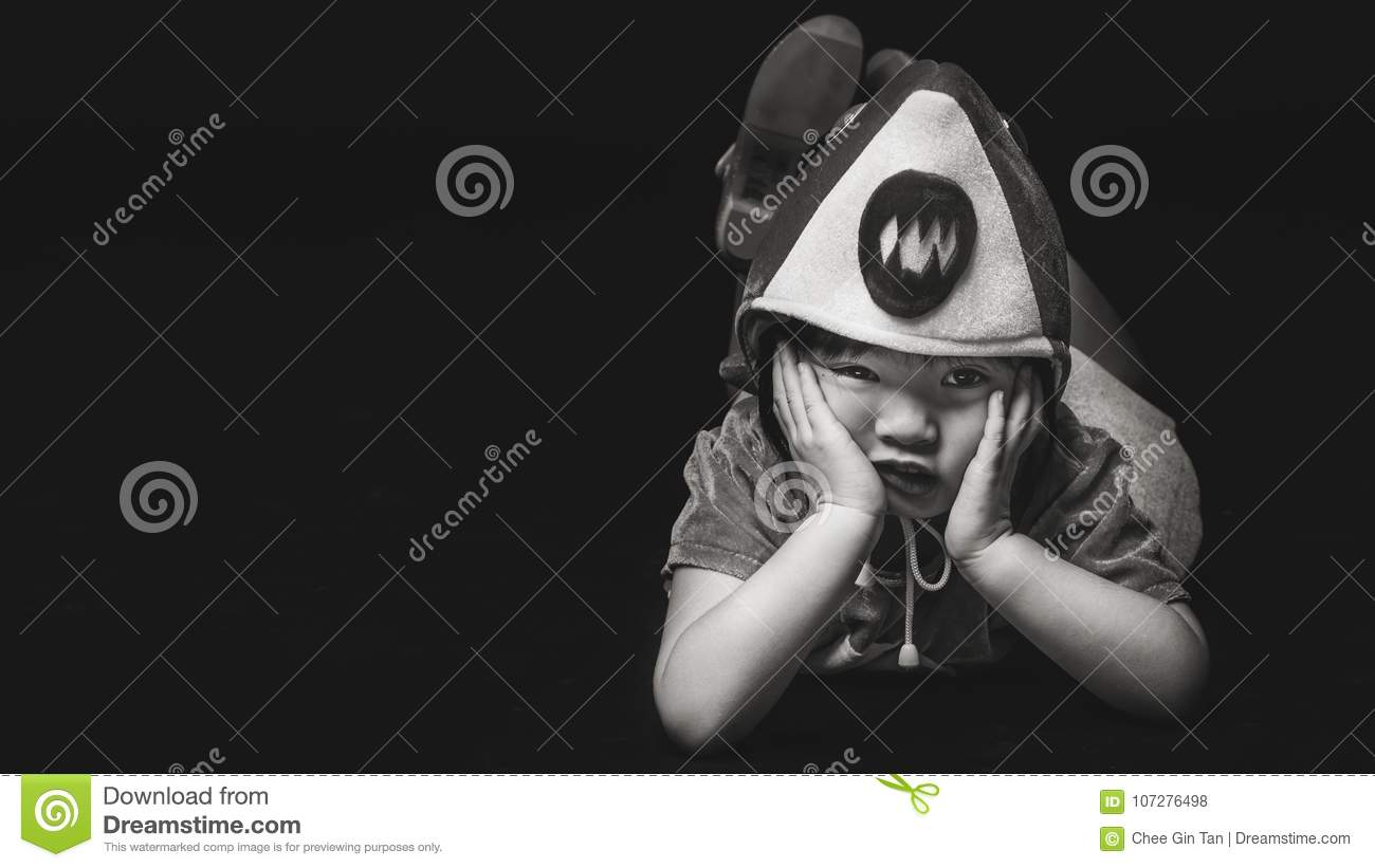 Child With Baby Shark Costume Stock Photo Image Of Playing