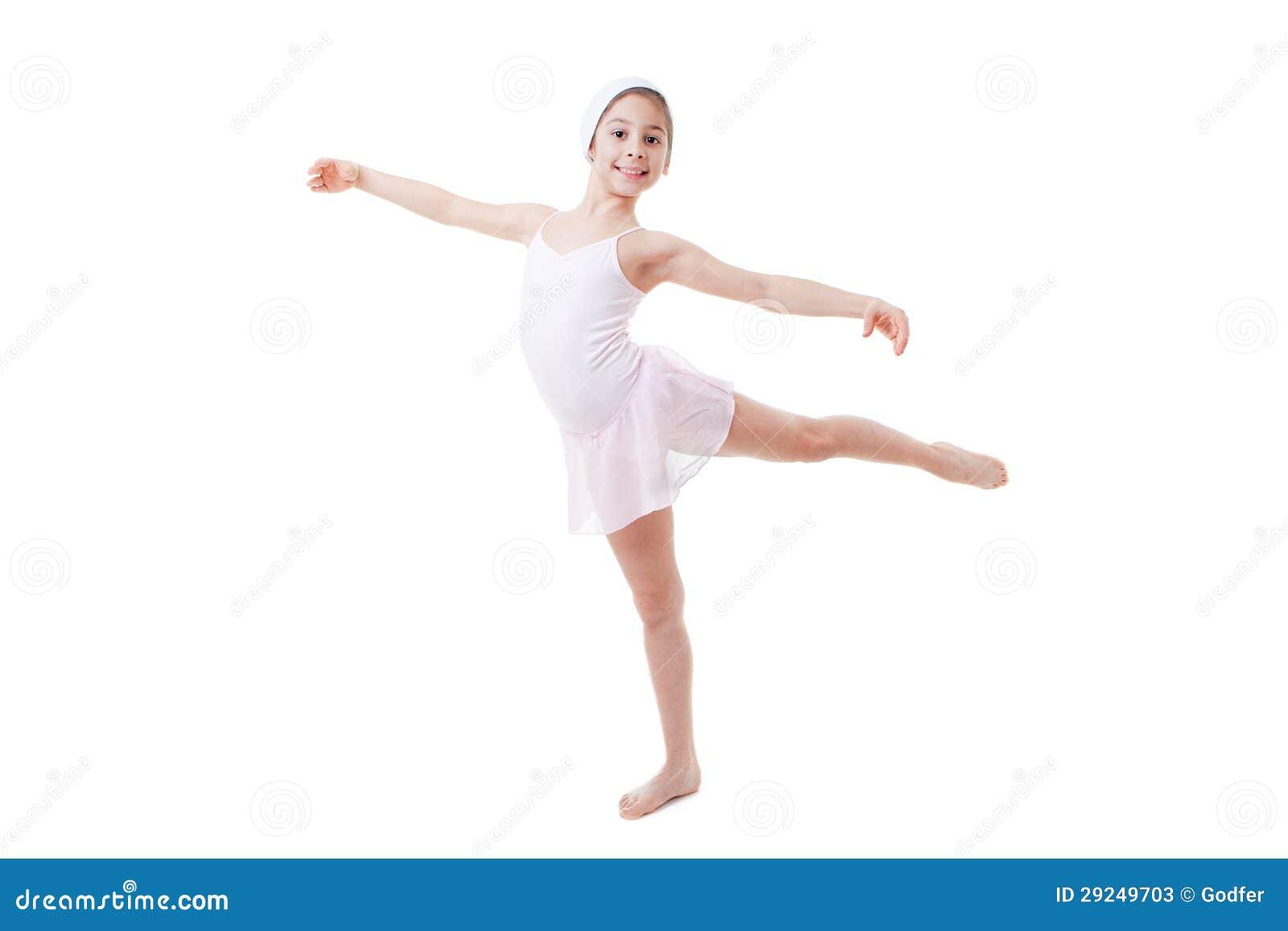 Child Ballet Pose Stock Image Image Of Child Balancing 29249703