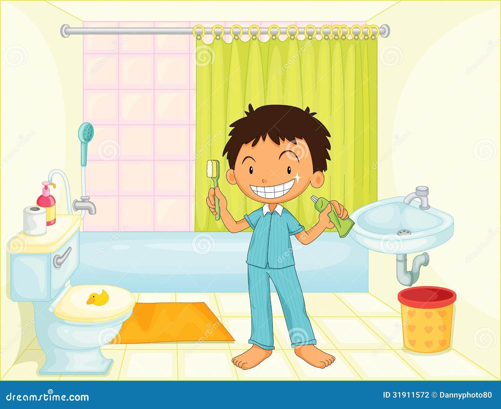 Hands free bathroom faucet