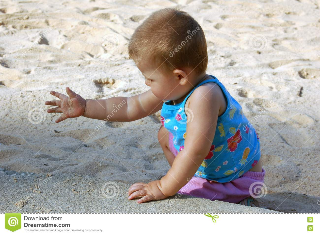 Stock Photography Child On The Beach Picture Image 1253332