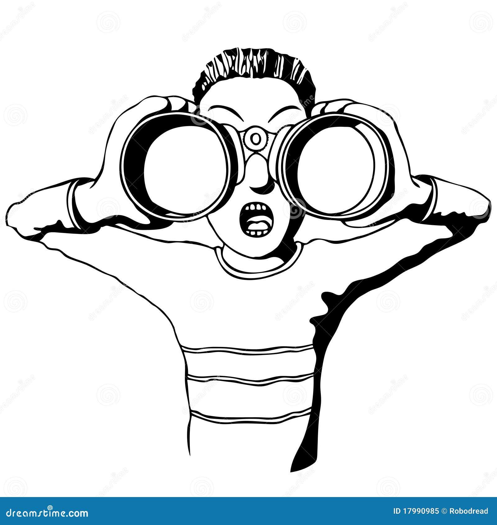 Child Binoculars Stock Illustrations 674 Child Binoculars Stock Illustrations Vectors Clipart Dreamstime