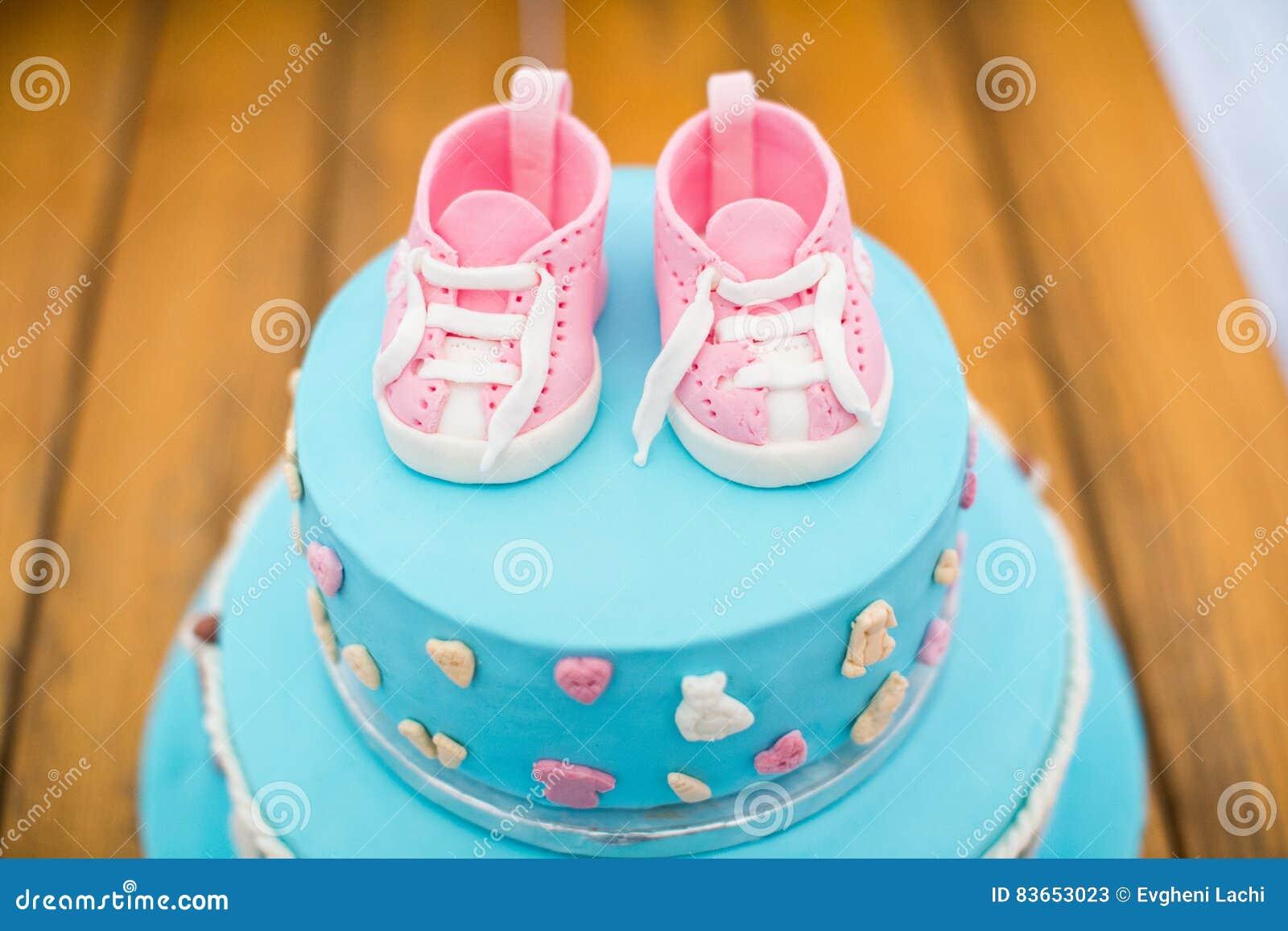 Child Birthday Cake Decorated For Kids Stock Photo Image 83653023