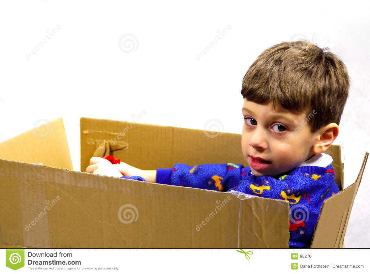 Child in a Box