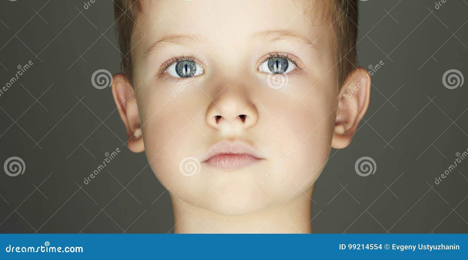 Child boy face
