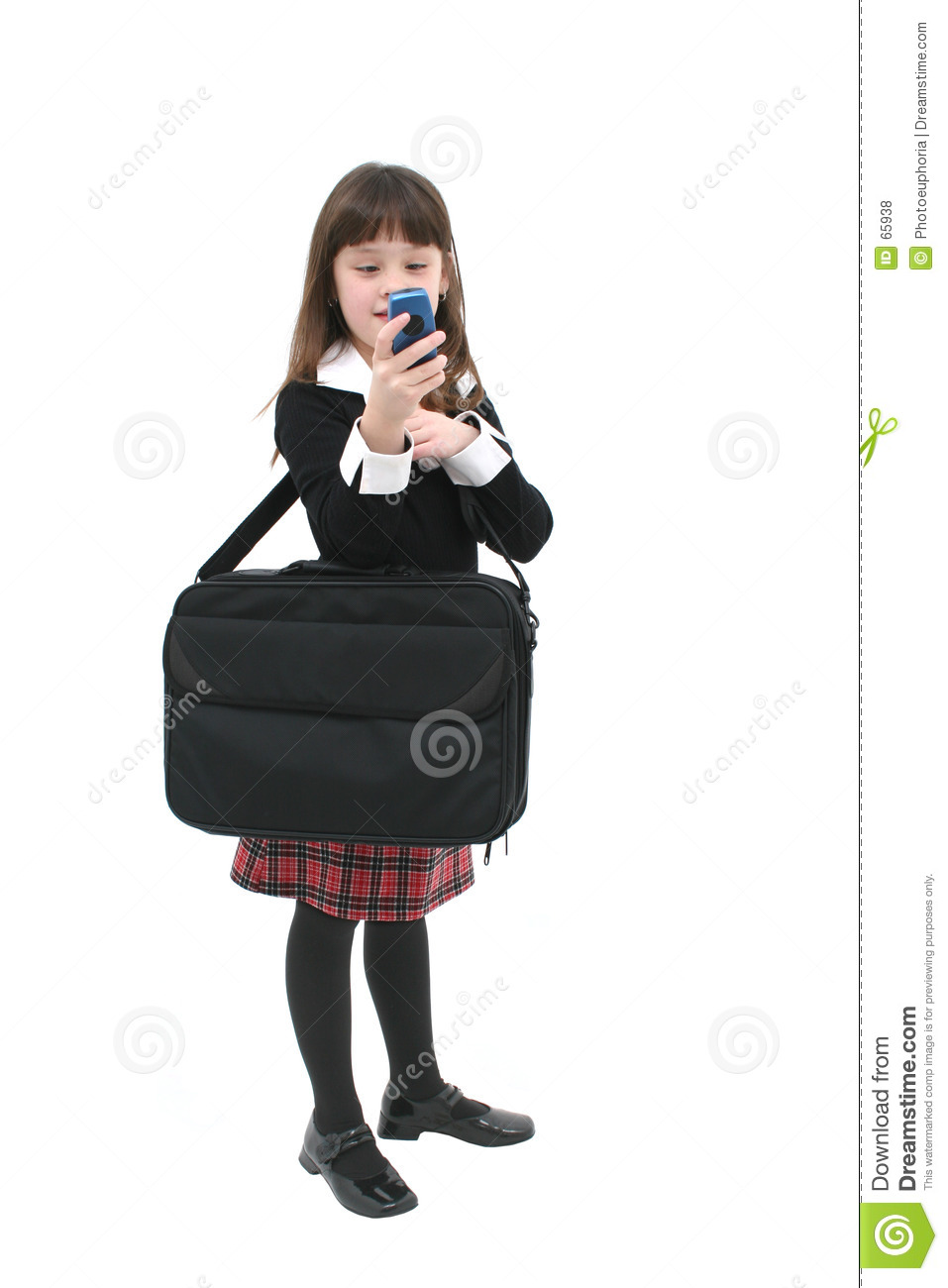 Child with Cellphone