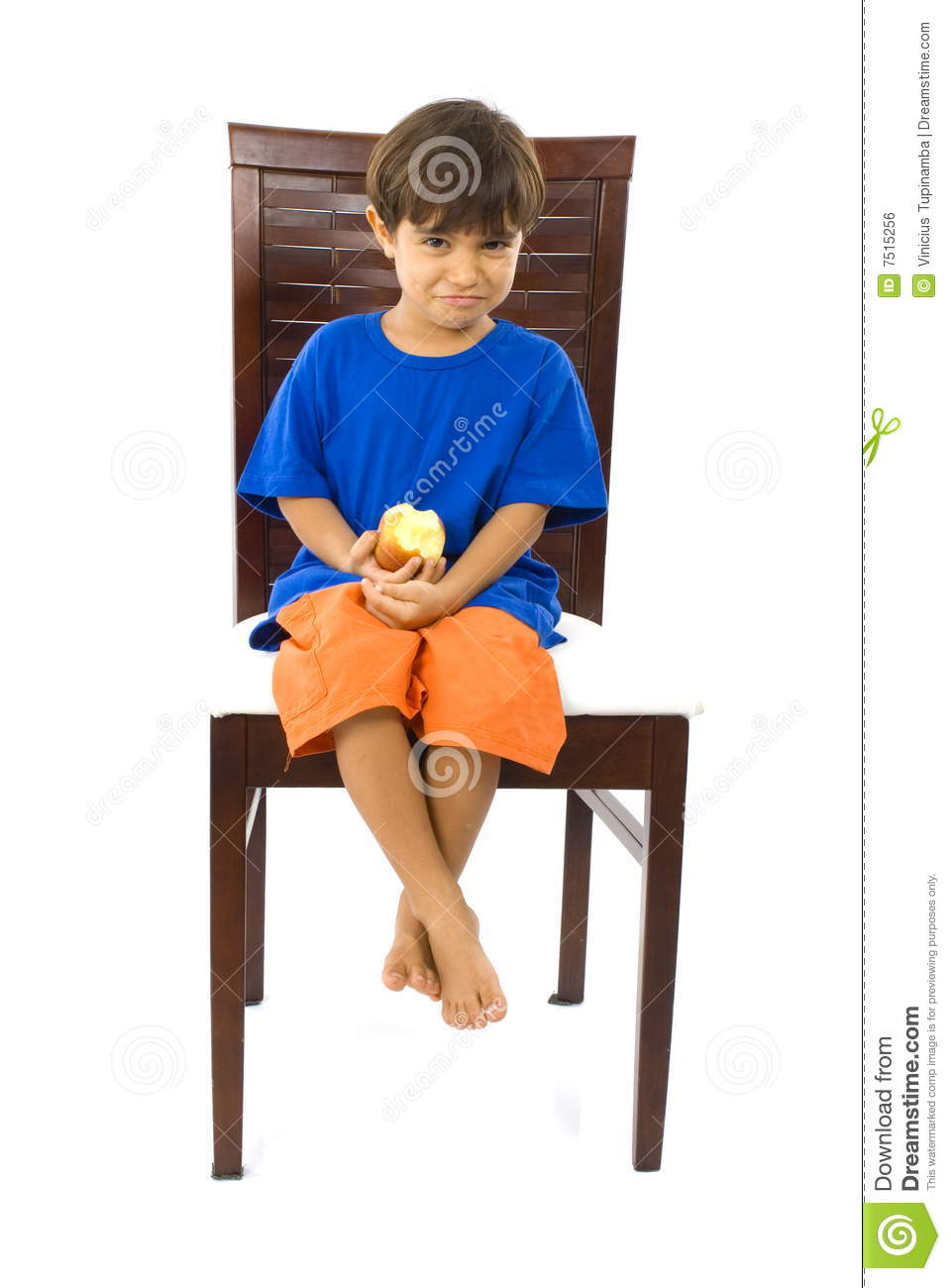 Child and chair royalty free stock image image 7515256 for Child on chair