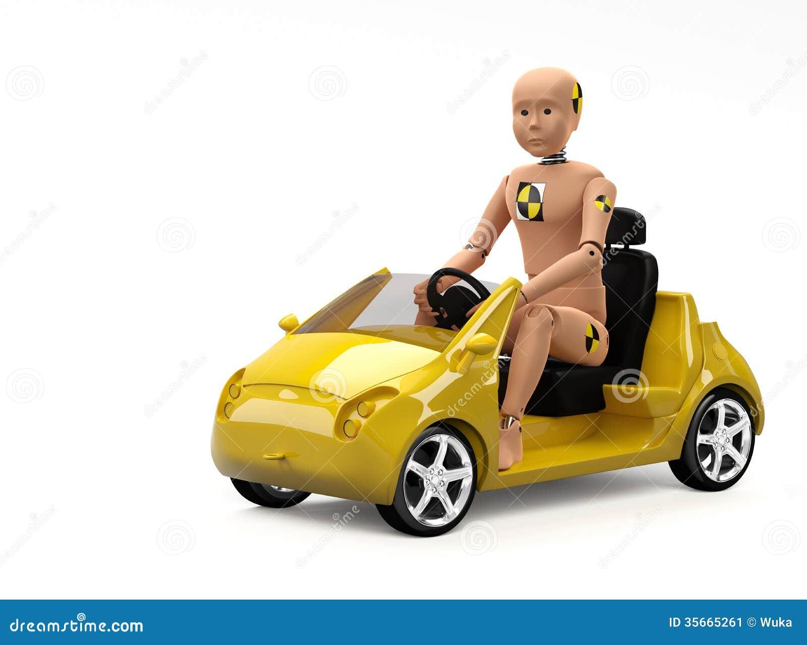 Video Car Crash Test Dummies