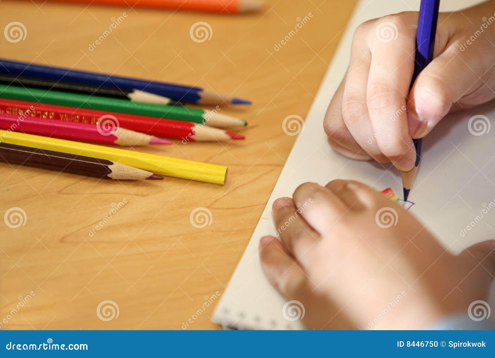 Child draw