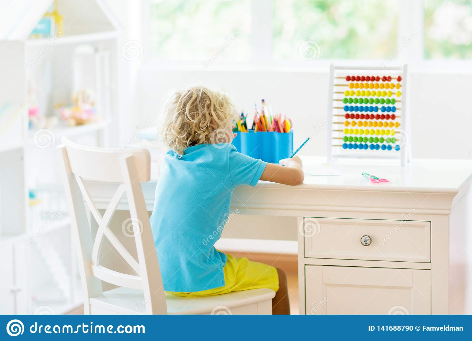 Fantastic Child Drawing Kids Paint Stock Photo Image Of Child Pdpeps Interior Chair Design Pdpepsorg
