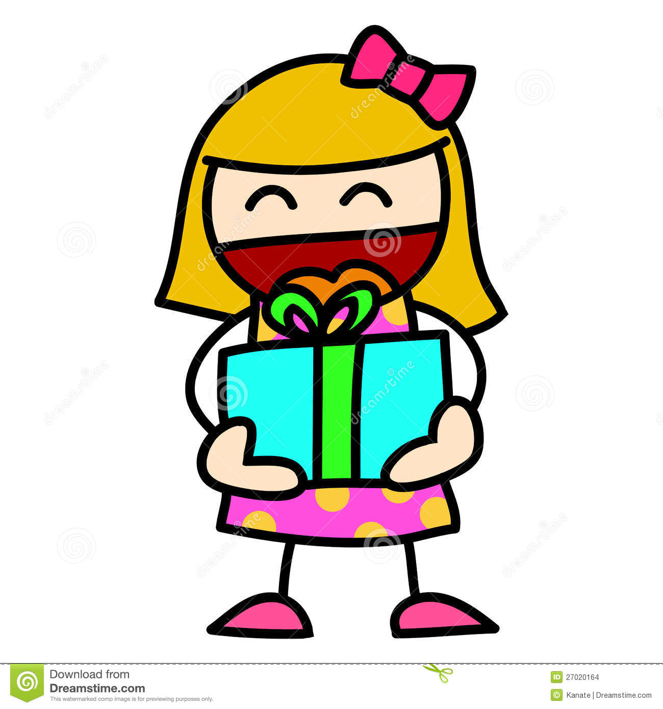 Child and gift cartoon stock images image 27020164 royalty free stock photo download child and gift cartoon negle Gallery