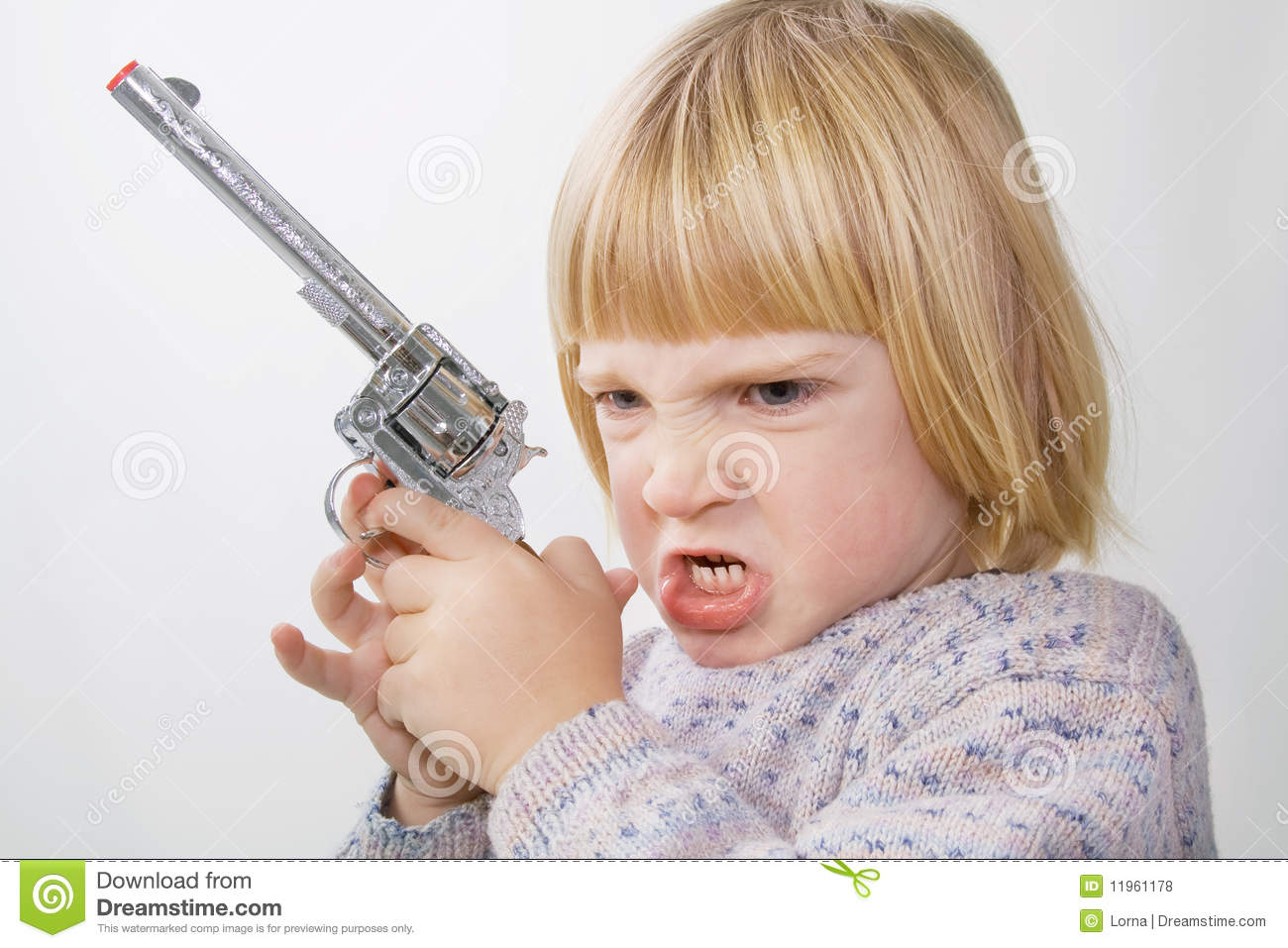 Kids And Toy Weapons