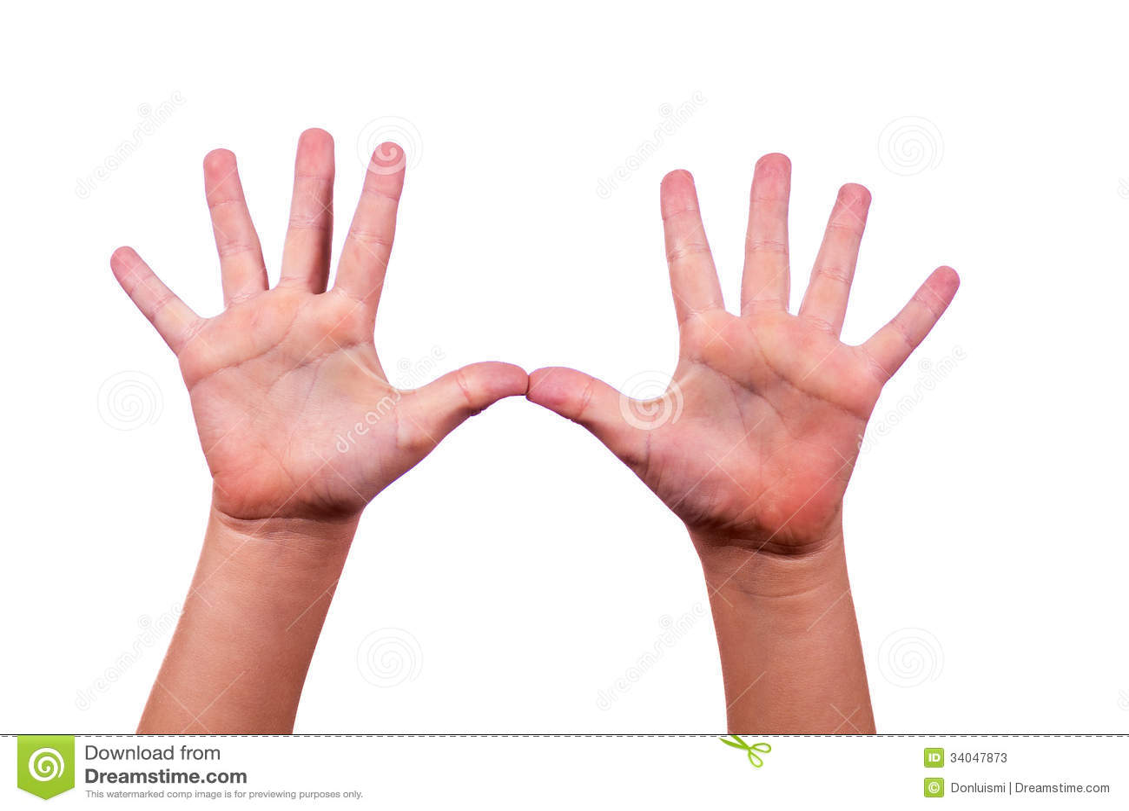 Child Raising Hand Clipart