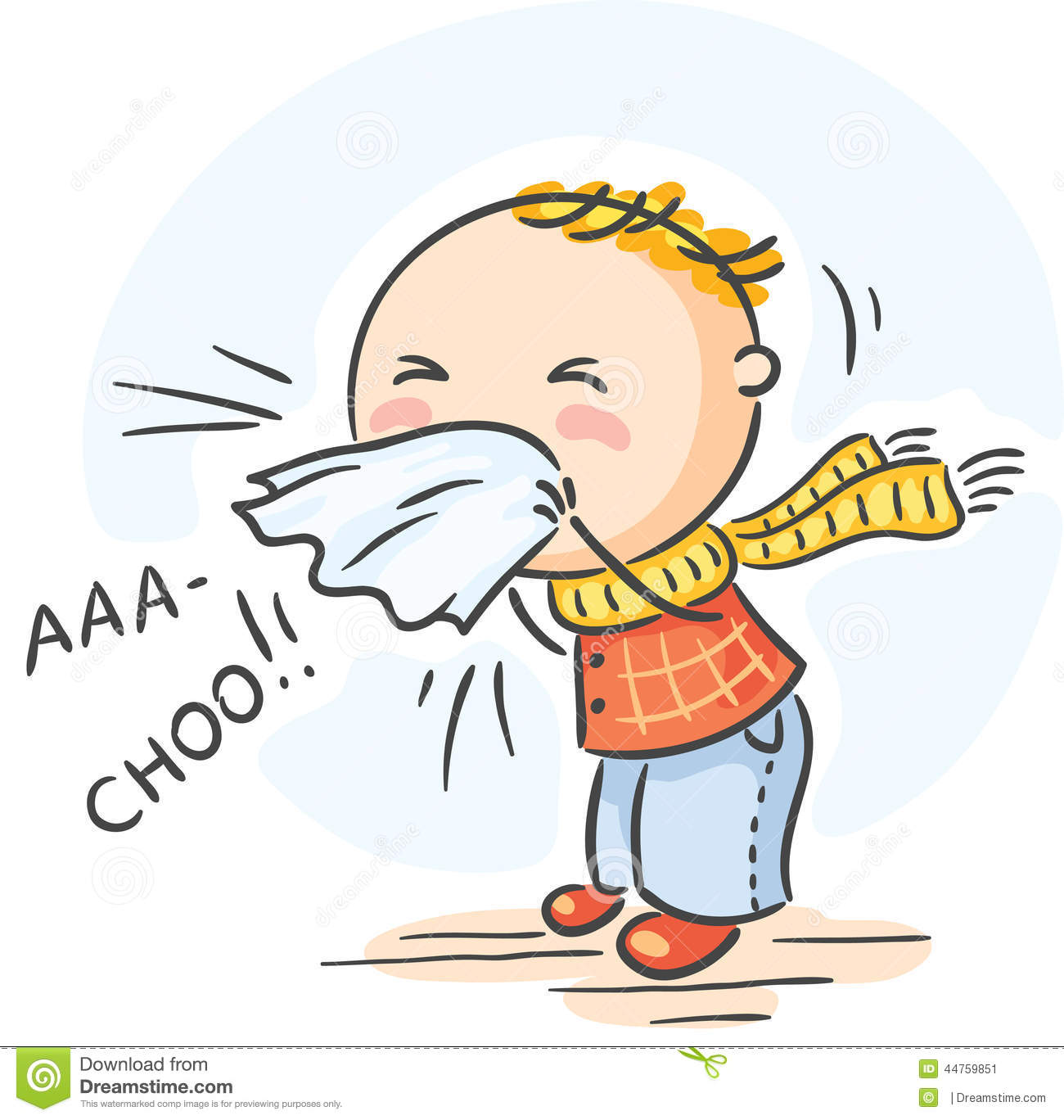 Sneezing Illustrations and Clipart. 2,563 Sneezing royalty ...