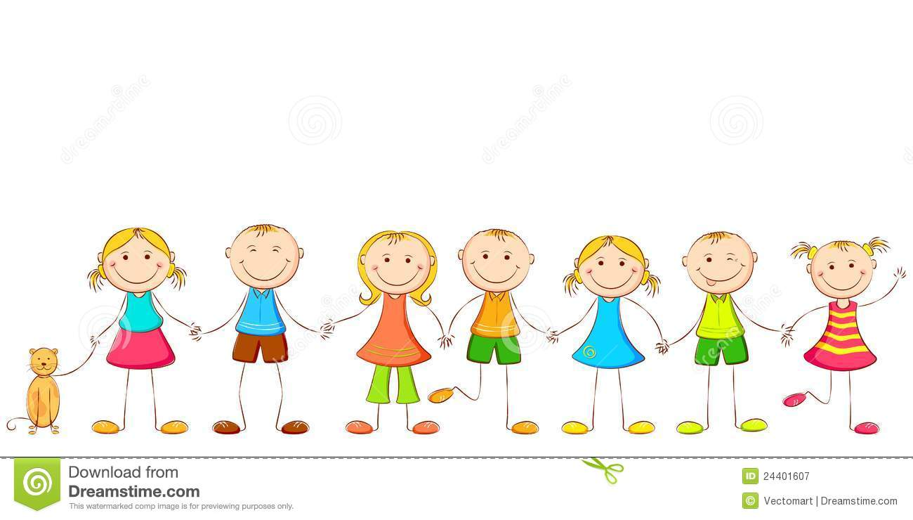 Child holding Hands stock vector Illustration of baby