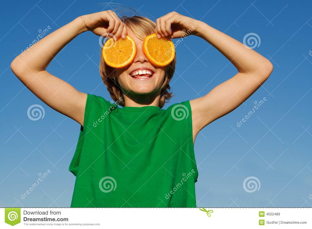 child kid or boy with fruit