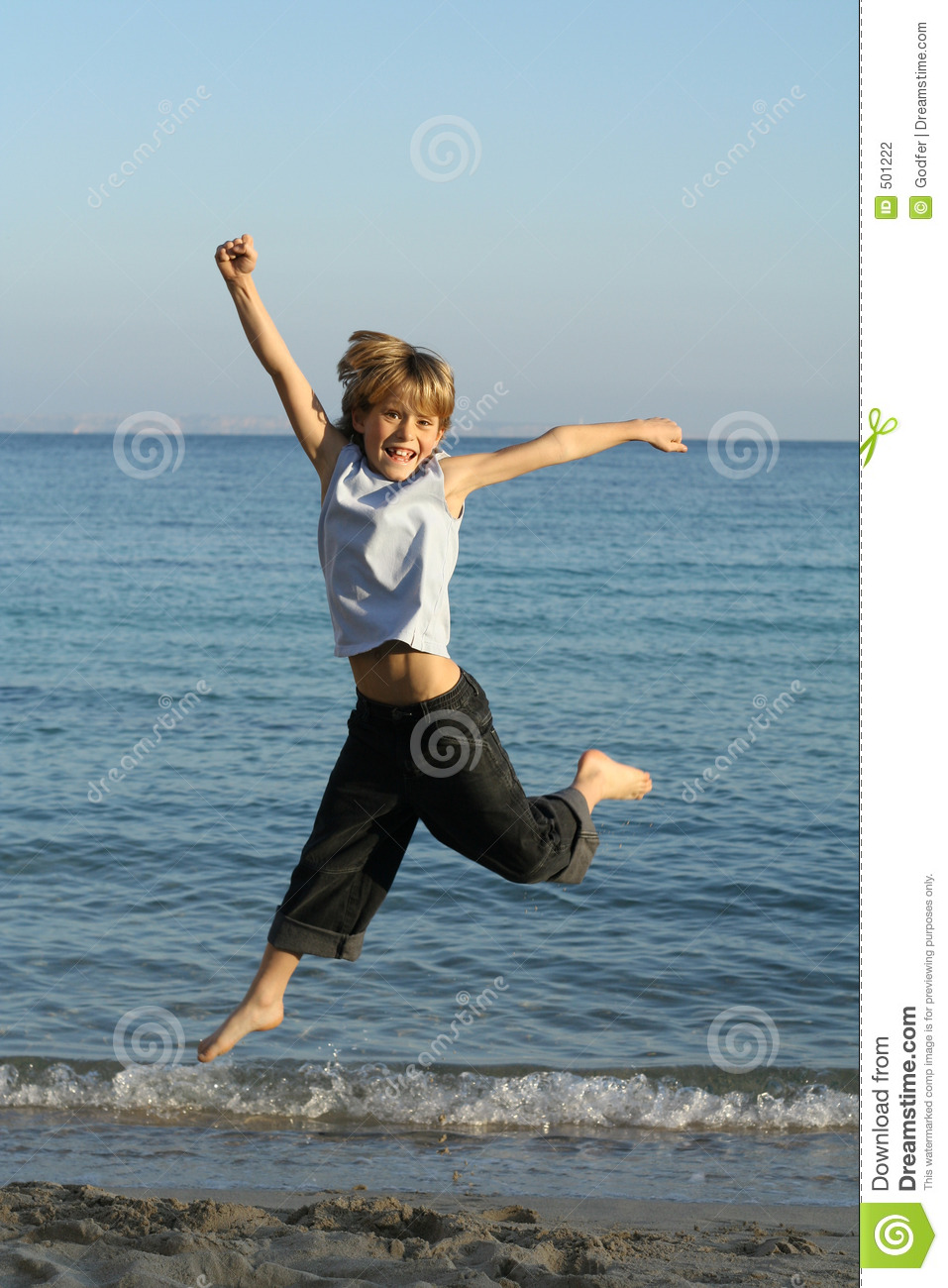 child or kid jumping stock photography image 501222