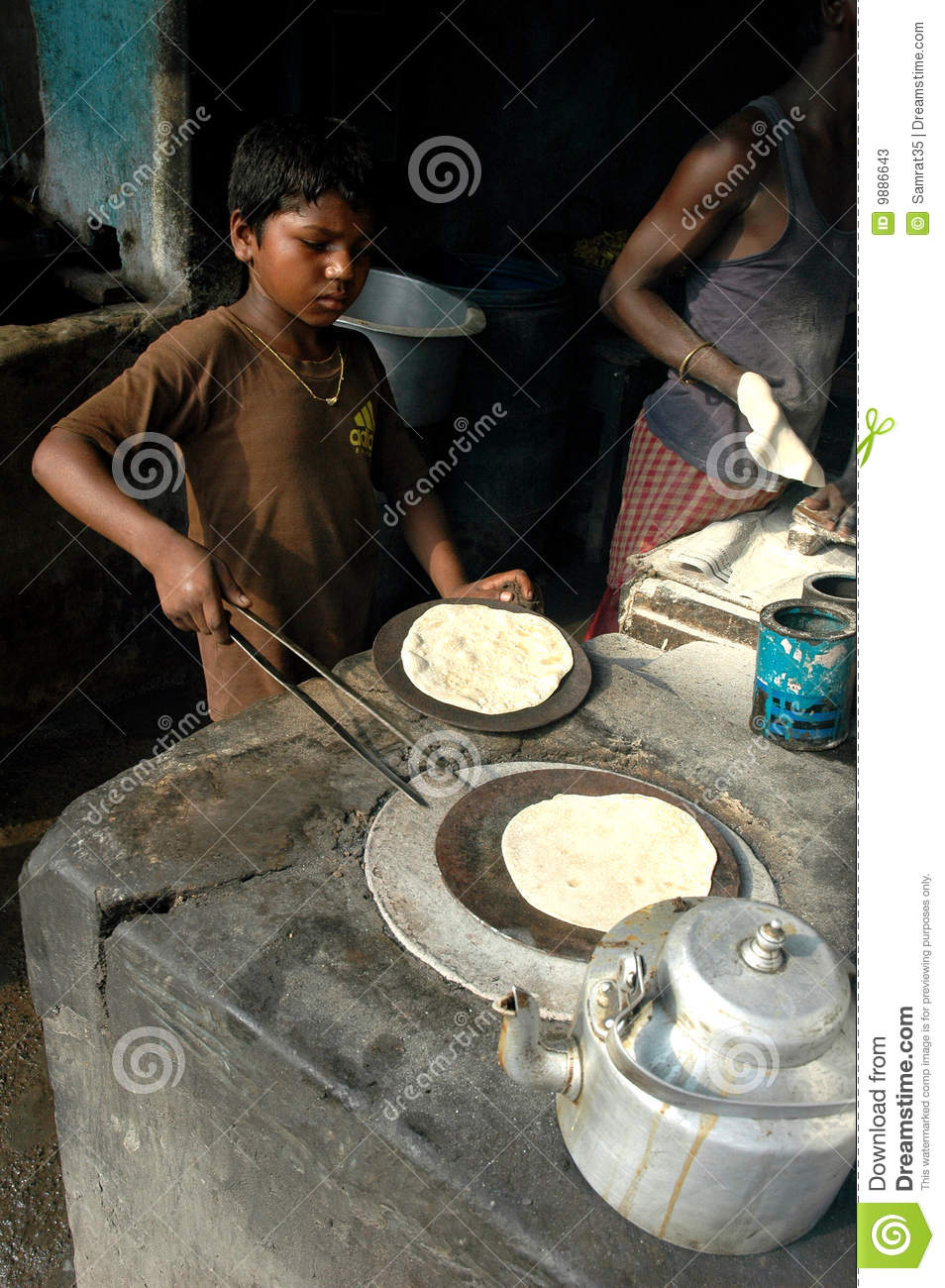 Child Labour In India Editorial Stock Photo Image 9886643