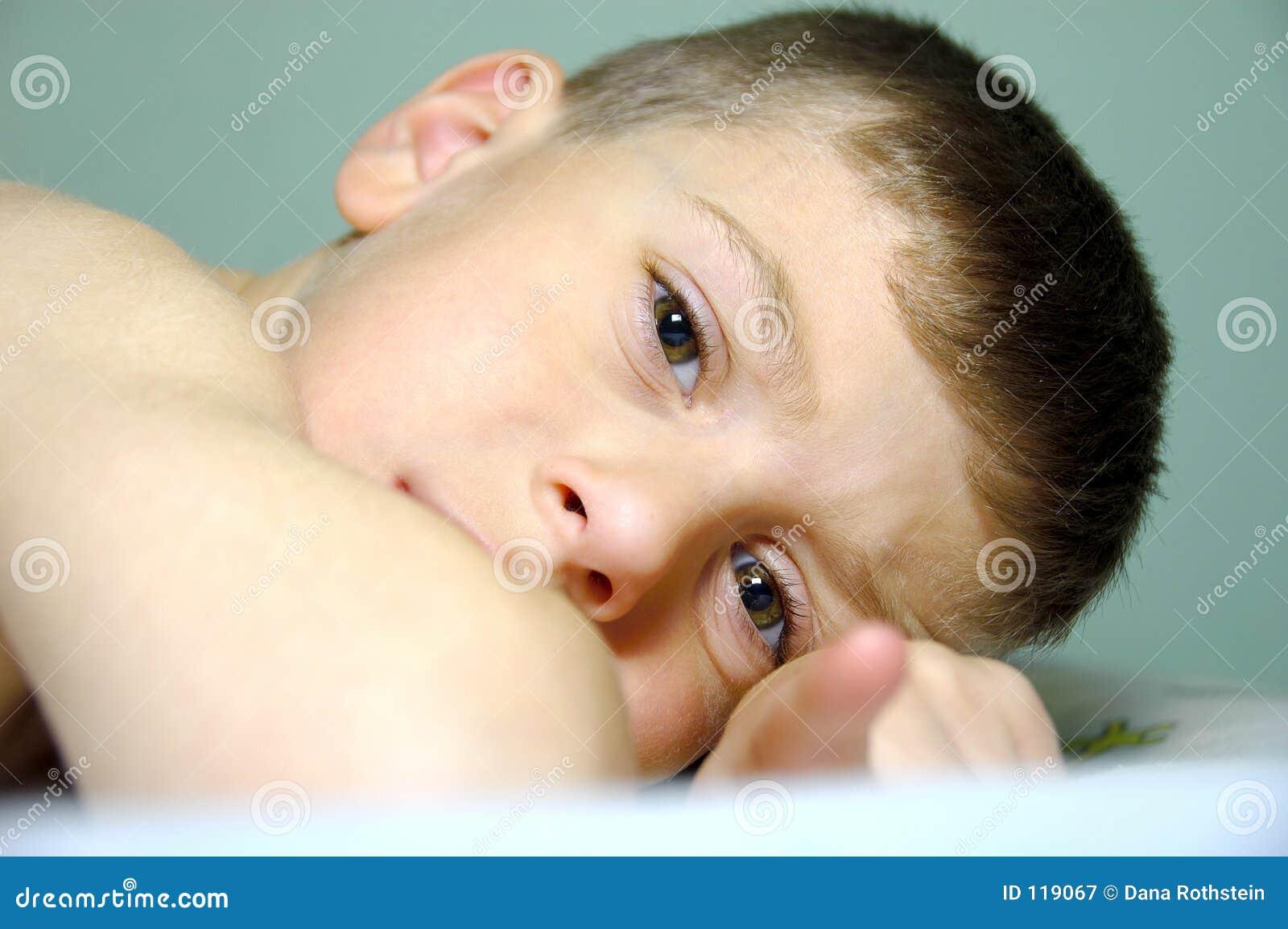 Child Laying Down