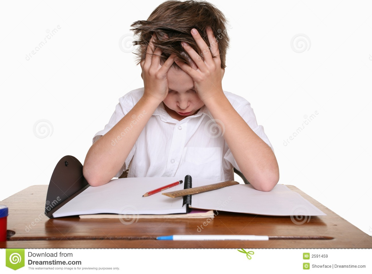 Child with learning difficulty