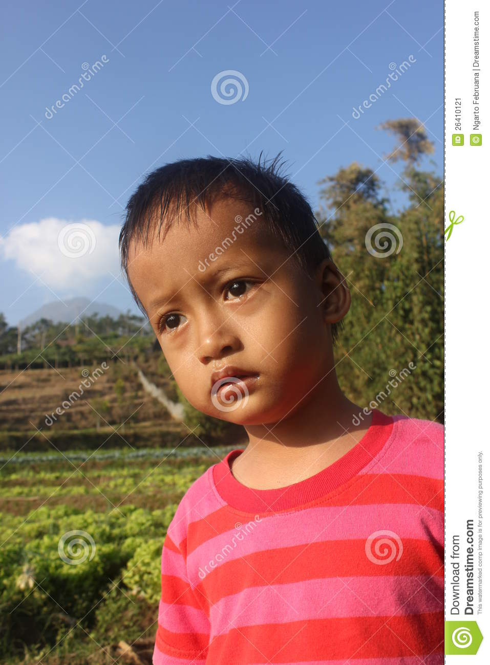 Glancing child stock photo. Image of concealing, carousel