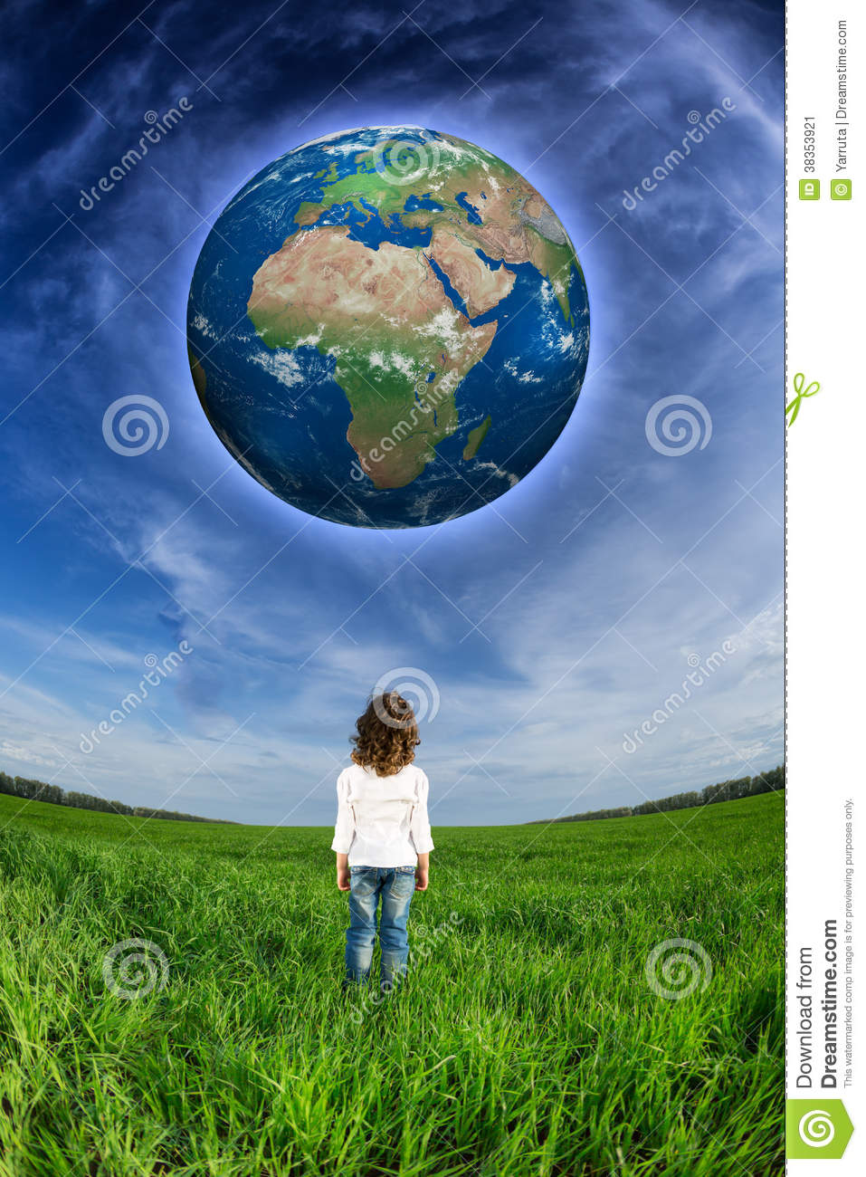 looking at other planet earth -#main