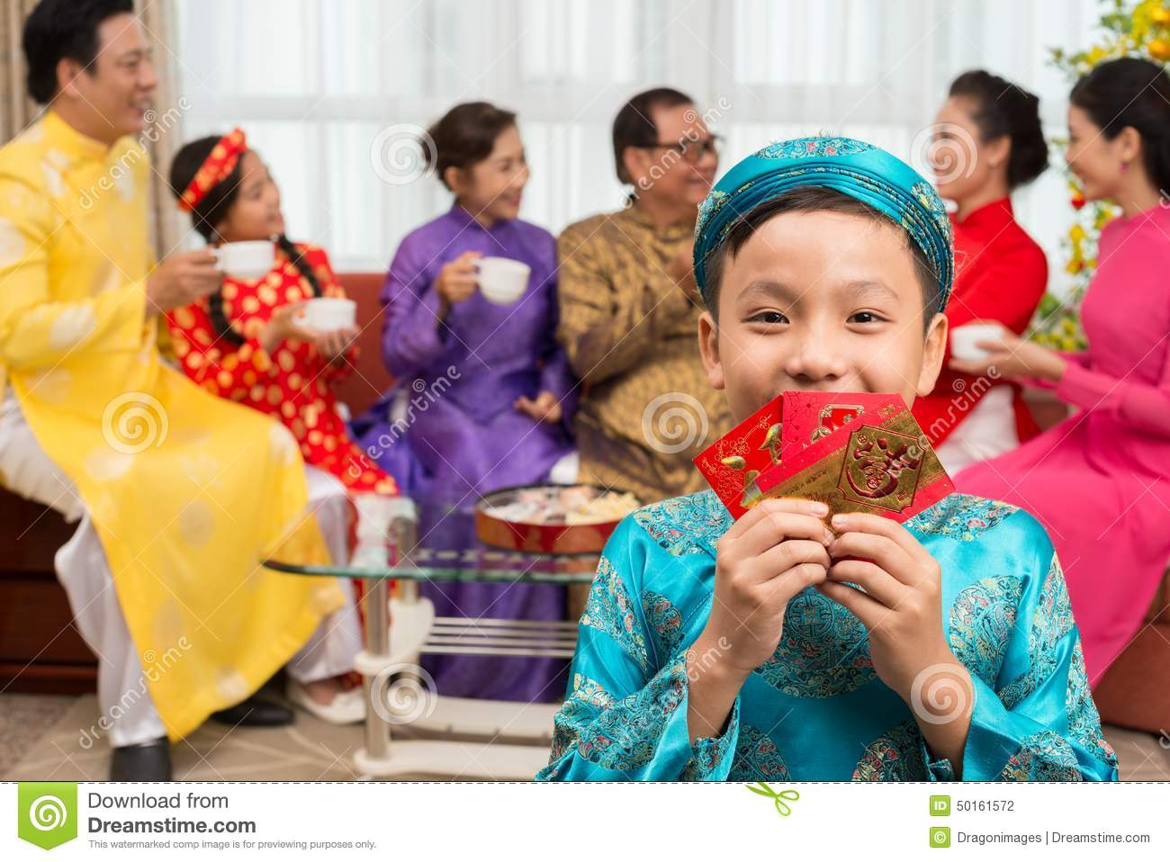 download child with new year greetings stock photo image of family greeting 50161572