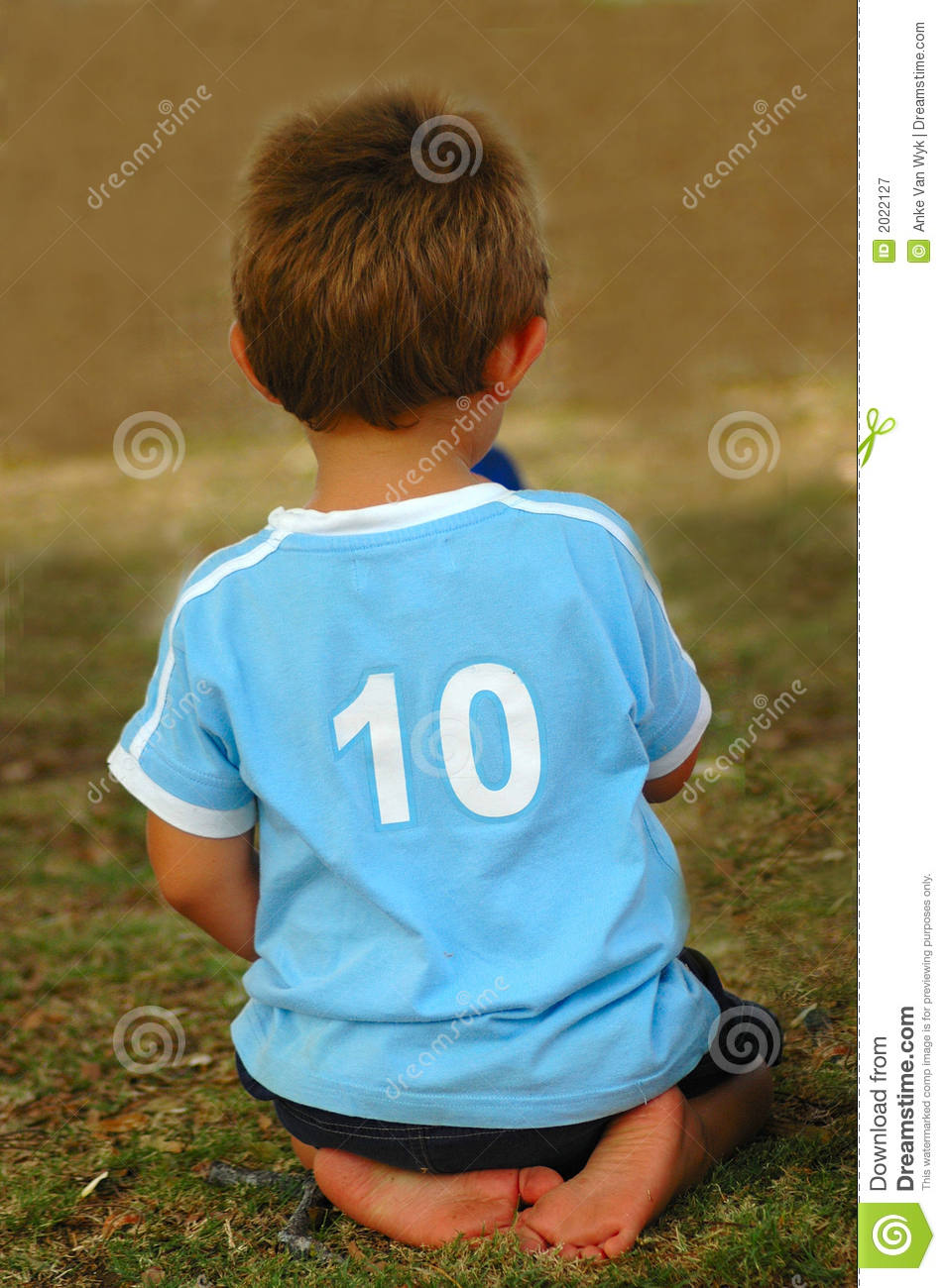 Child Number Ten Royalty Free Stock Photography Image