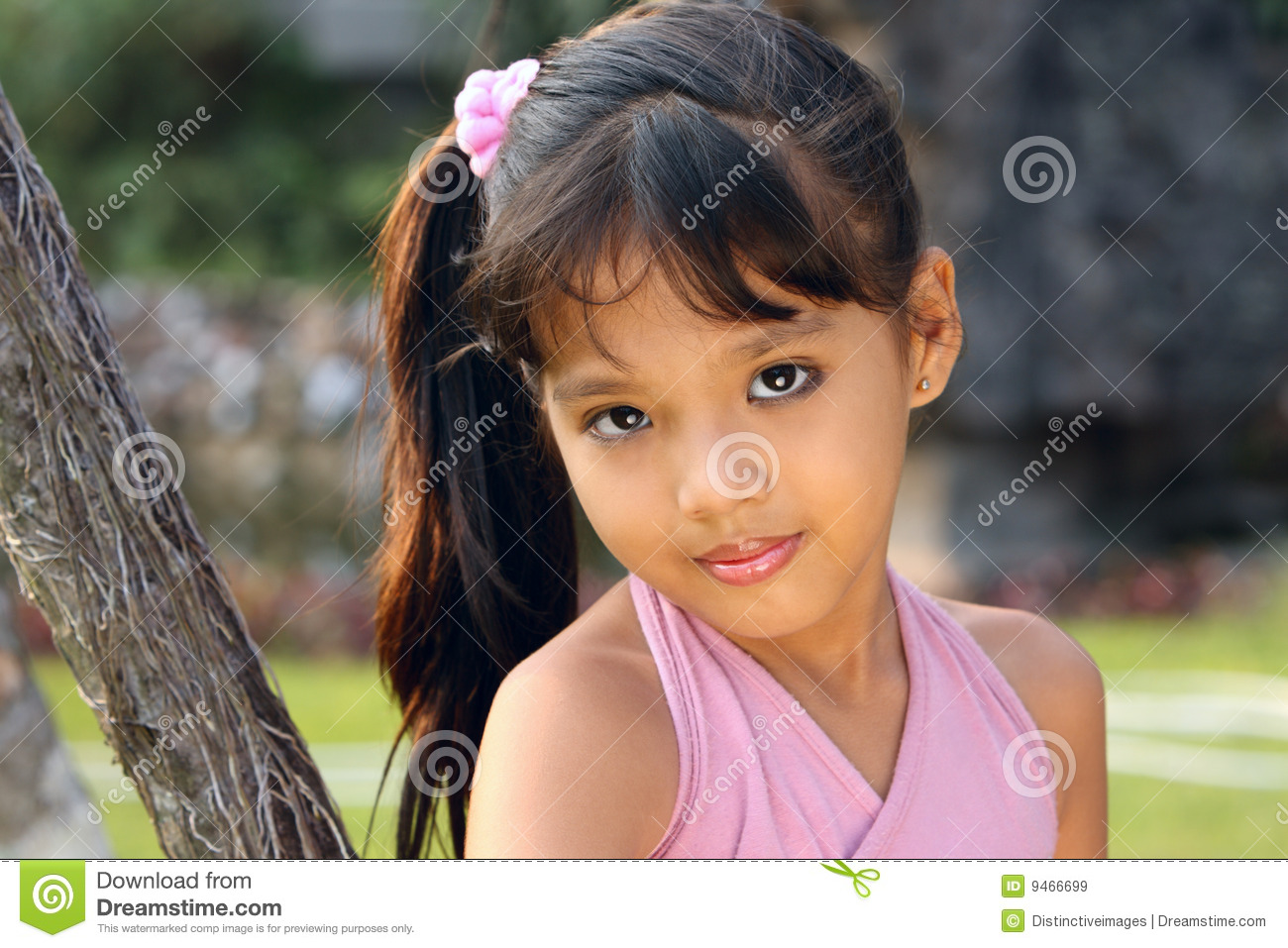 Child Outdoor 5 Years Old Royalty Free Stock Images