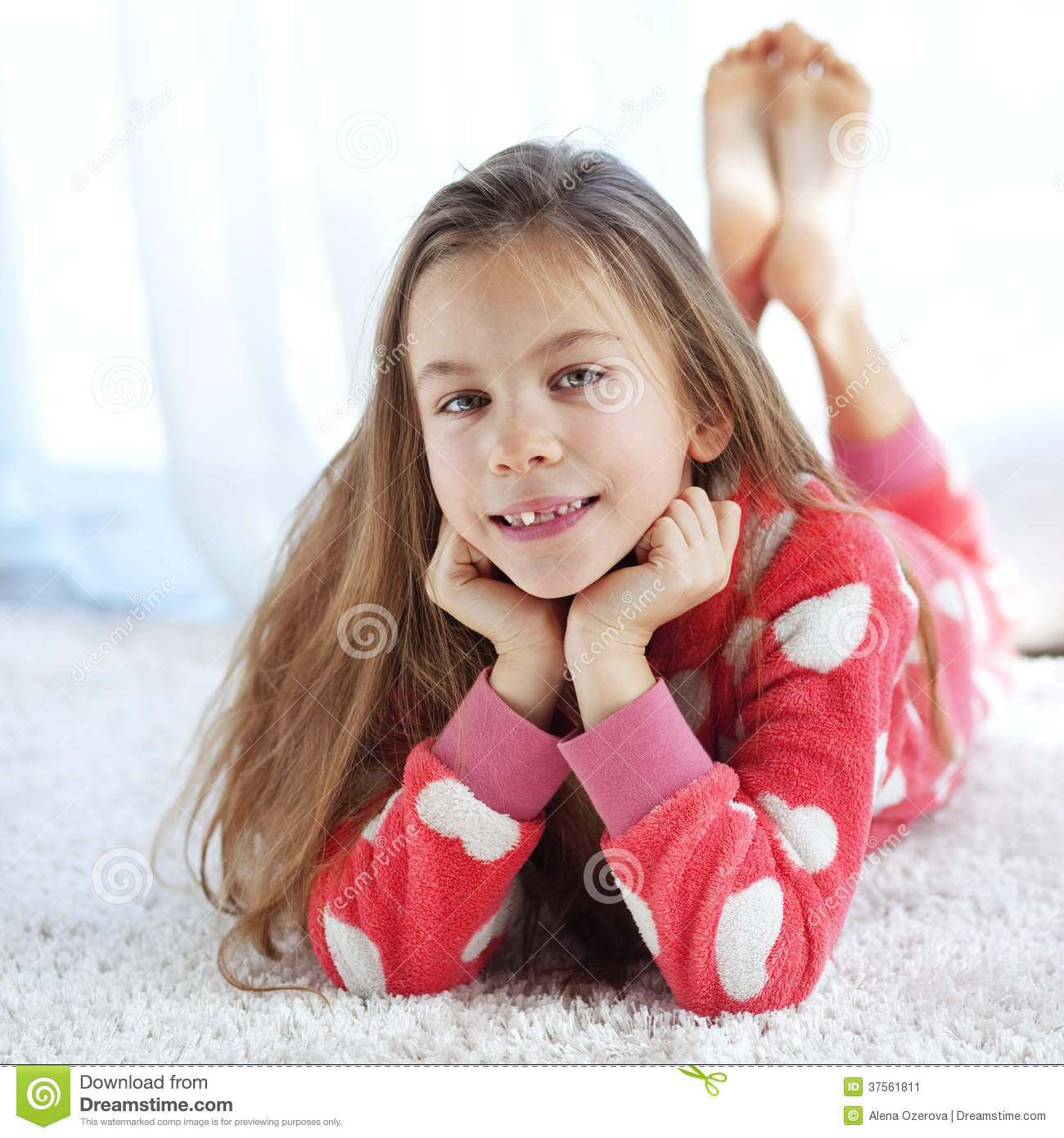 Child In Pajamas Stock Image. Image Of Cozy, Fleece, Child