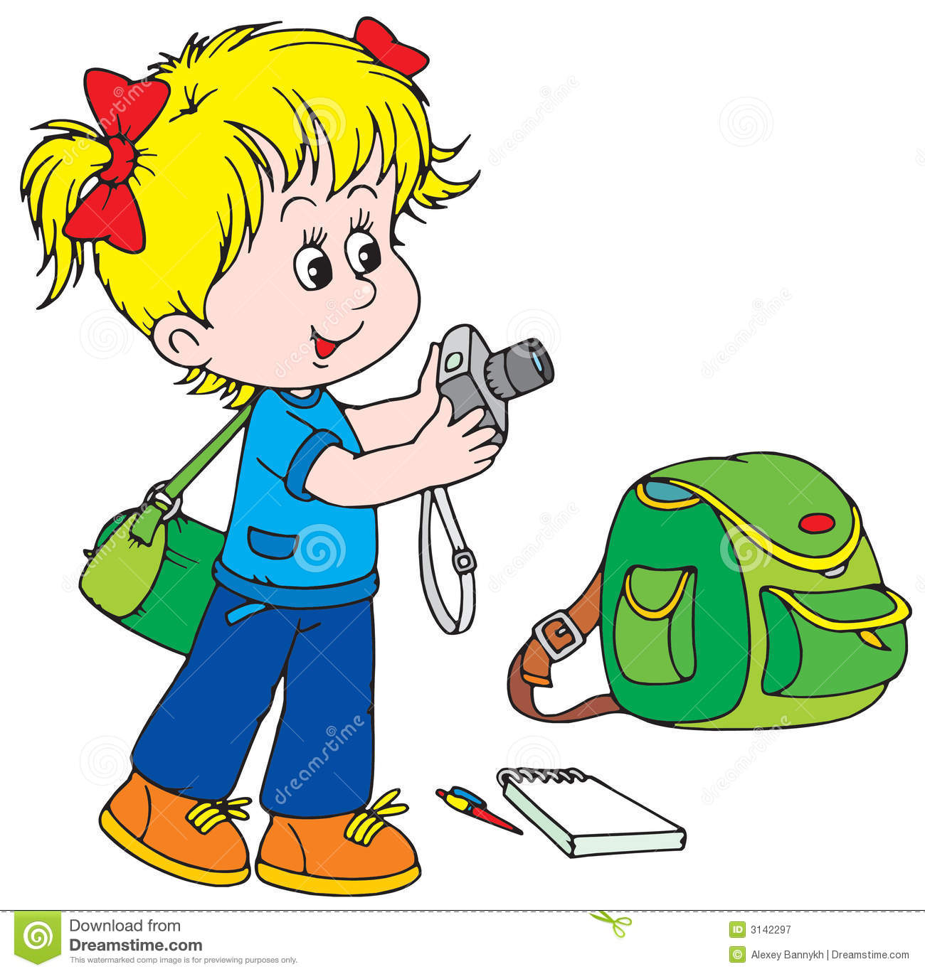 child photographer stock vector illustration of humor 3142297 rh dreamstime com clip art photography images clip art photography free