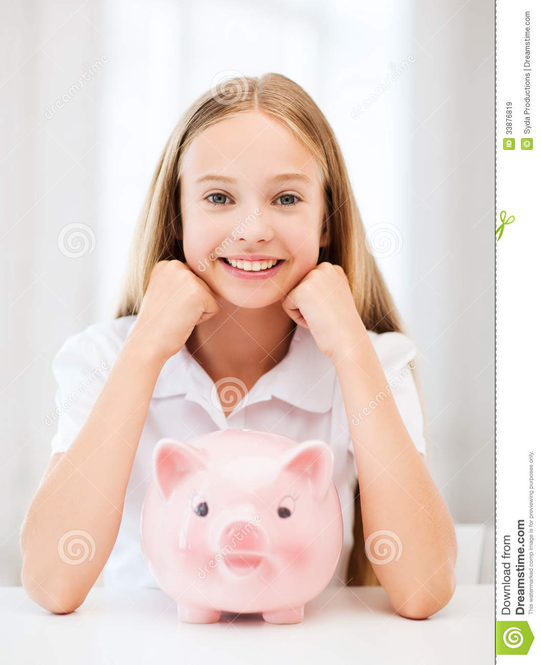 Child with piggy bank stock image image of bank piggy for Childrens piggy bank