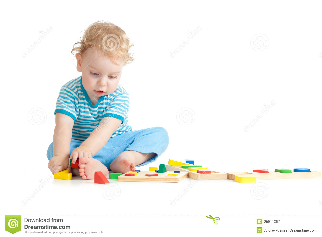 Child Playing Logical ...