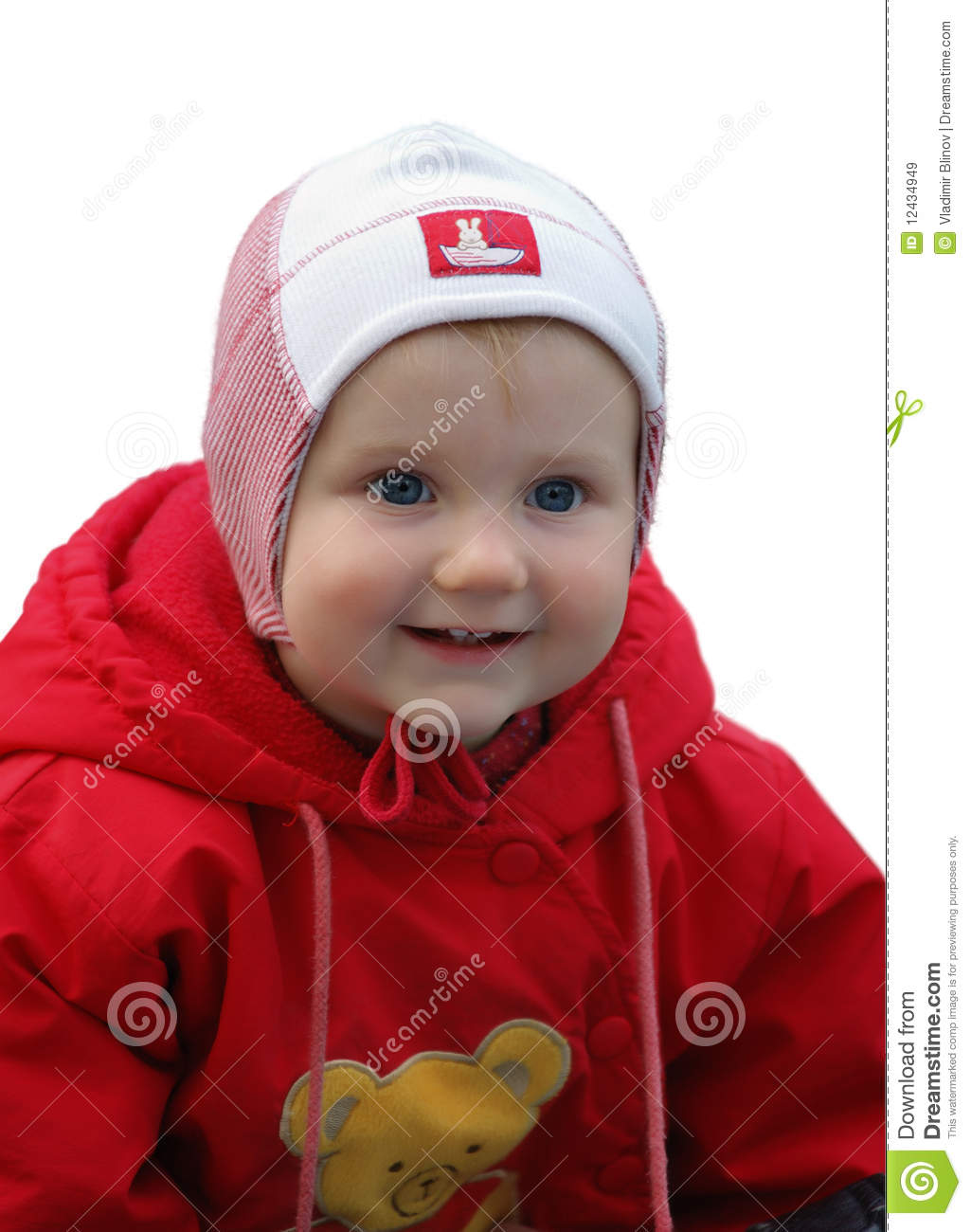 child playing in the park royalty free stock images   image 12434949