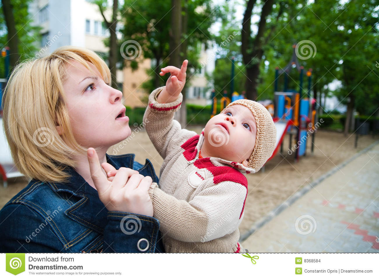Child pointing finger stock photo. Image of park, parent ... Cute Baby Pointing Finger