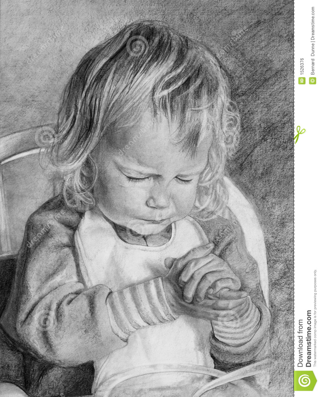 Children Praying Hands Clipart Child praying over meal in