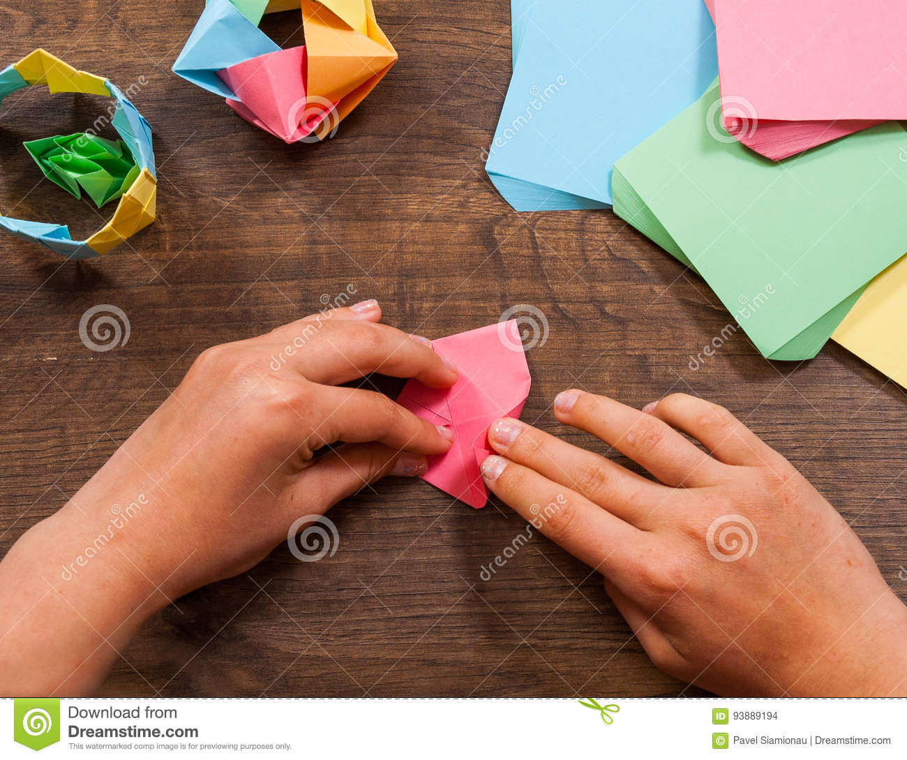 What can be made of paper origami