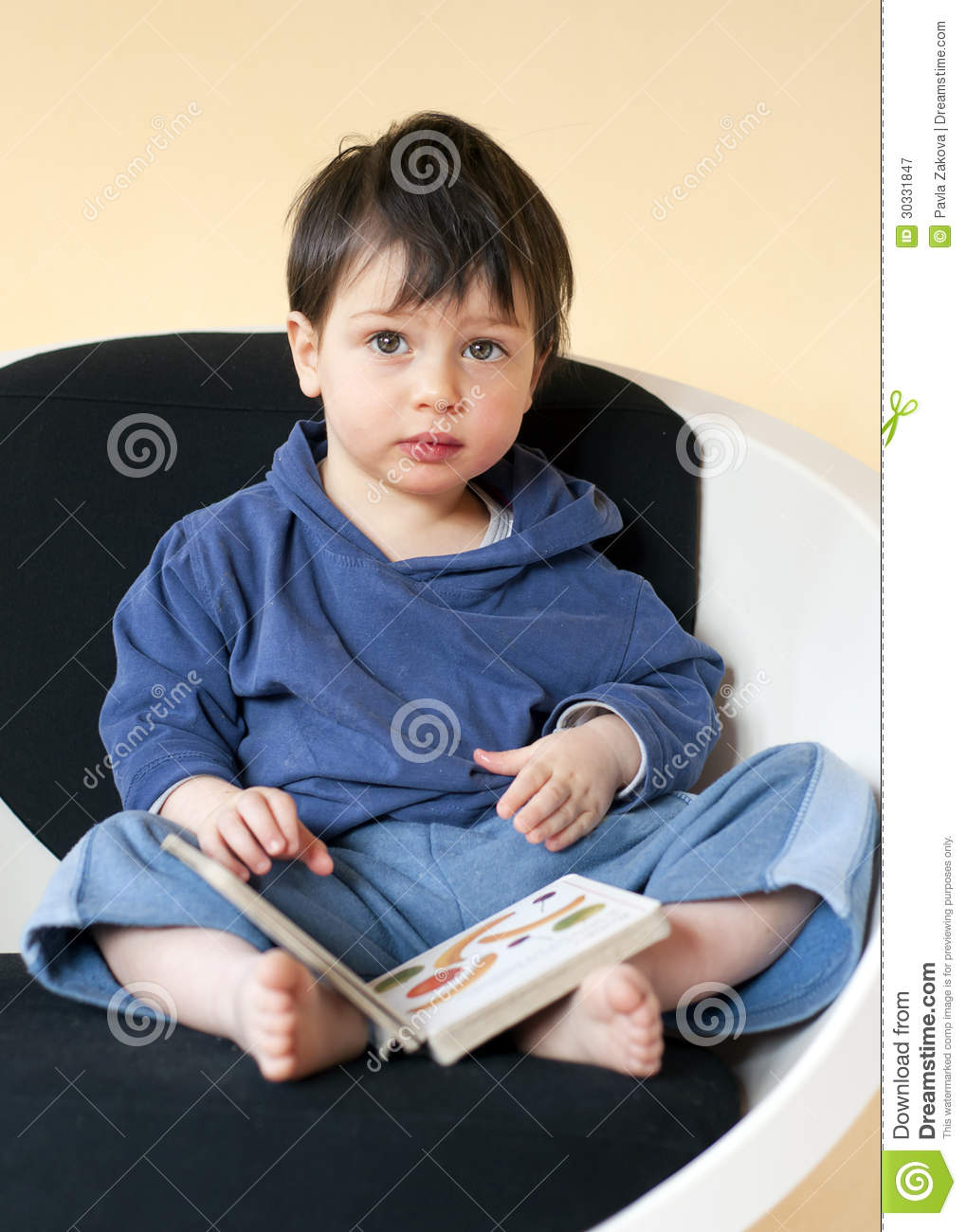 Child reading royalty free stock photography image 30331847 for Toddler sitting chair