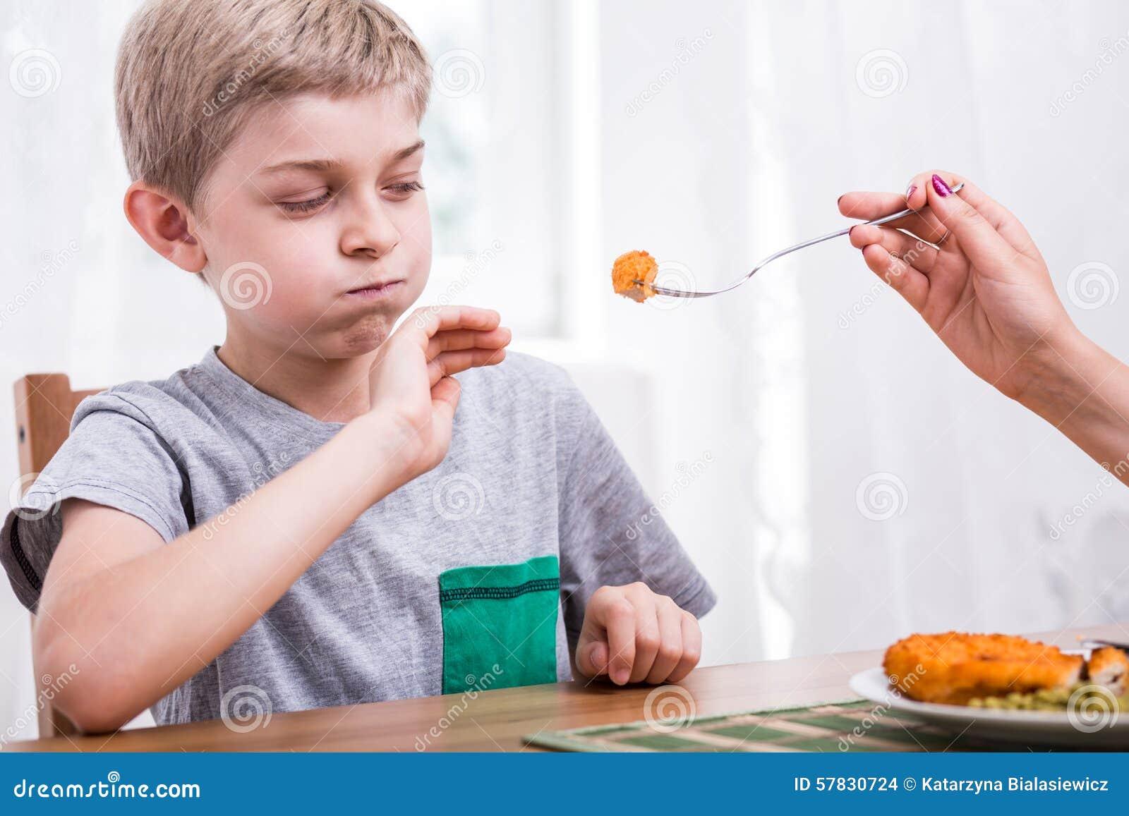 мериноса почему ребенок 5 лет не ест мясо для