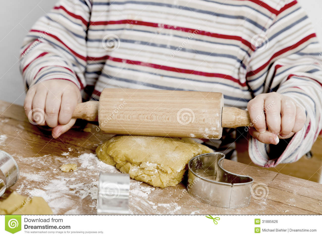 Child Rolling Cookie Dough 1300 x 957