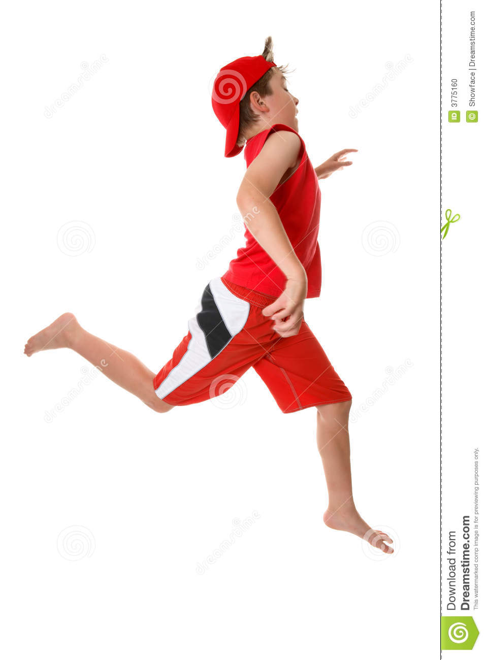 Child running fast stock photo. Image of fitness, people ...