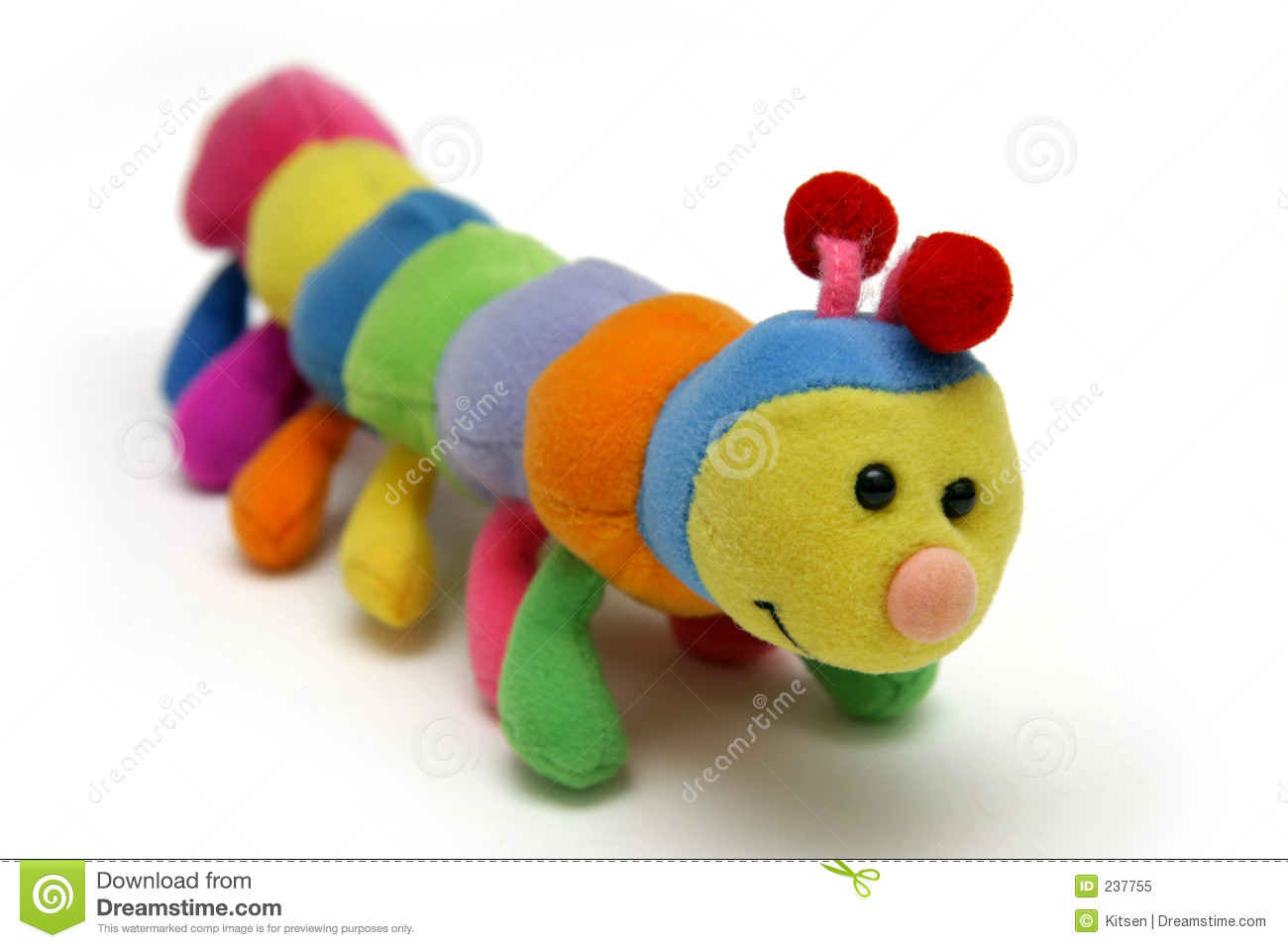 Child's Caterpillar Soft-toy Royalty Free Stock Photo - Image: 237755