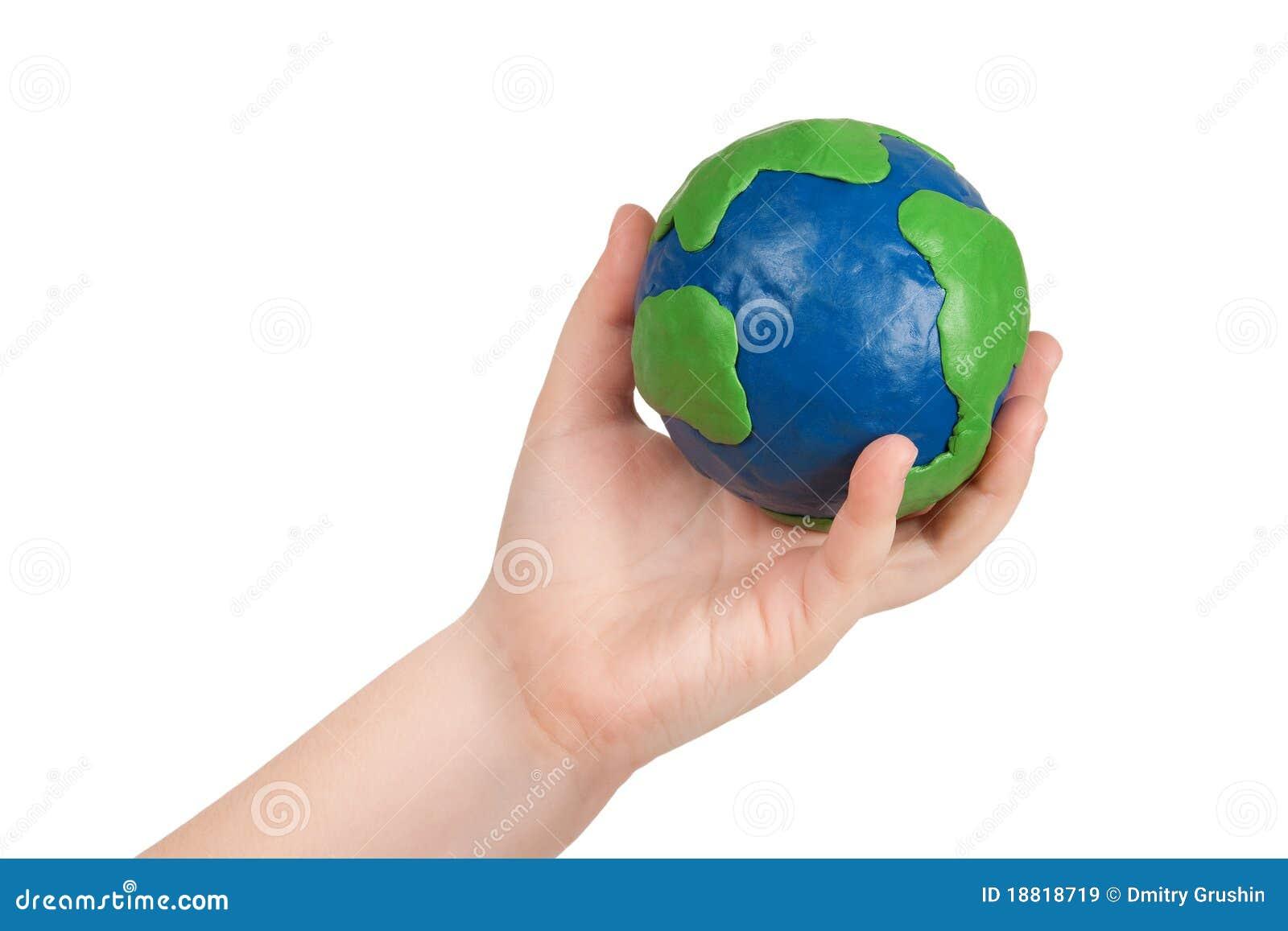 Макет земли своими руками картинки