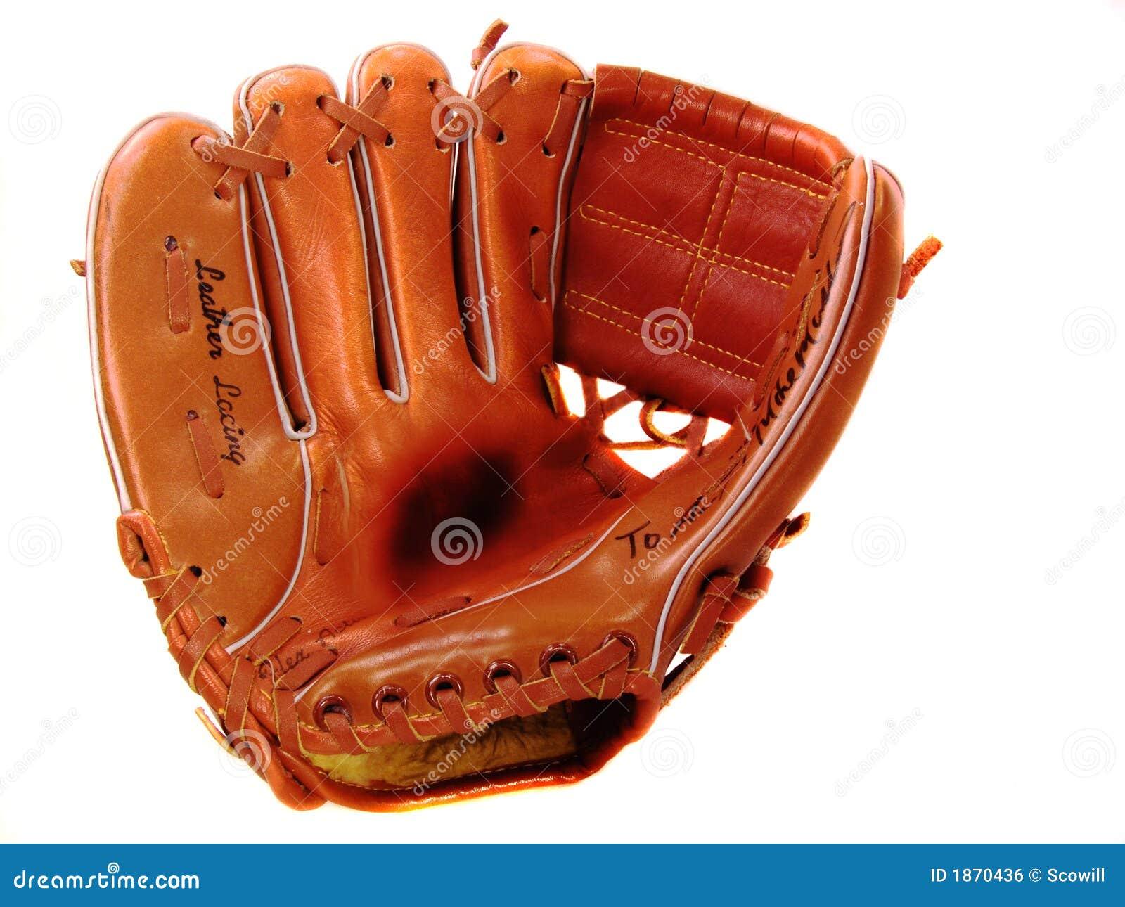 Child's Lefty Baseball Glove Stock Photo