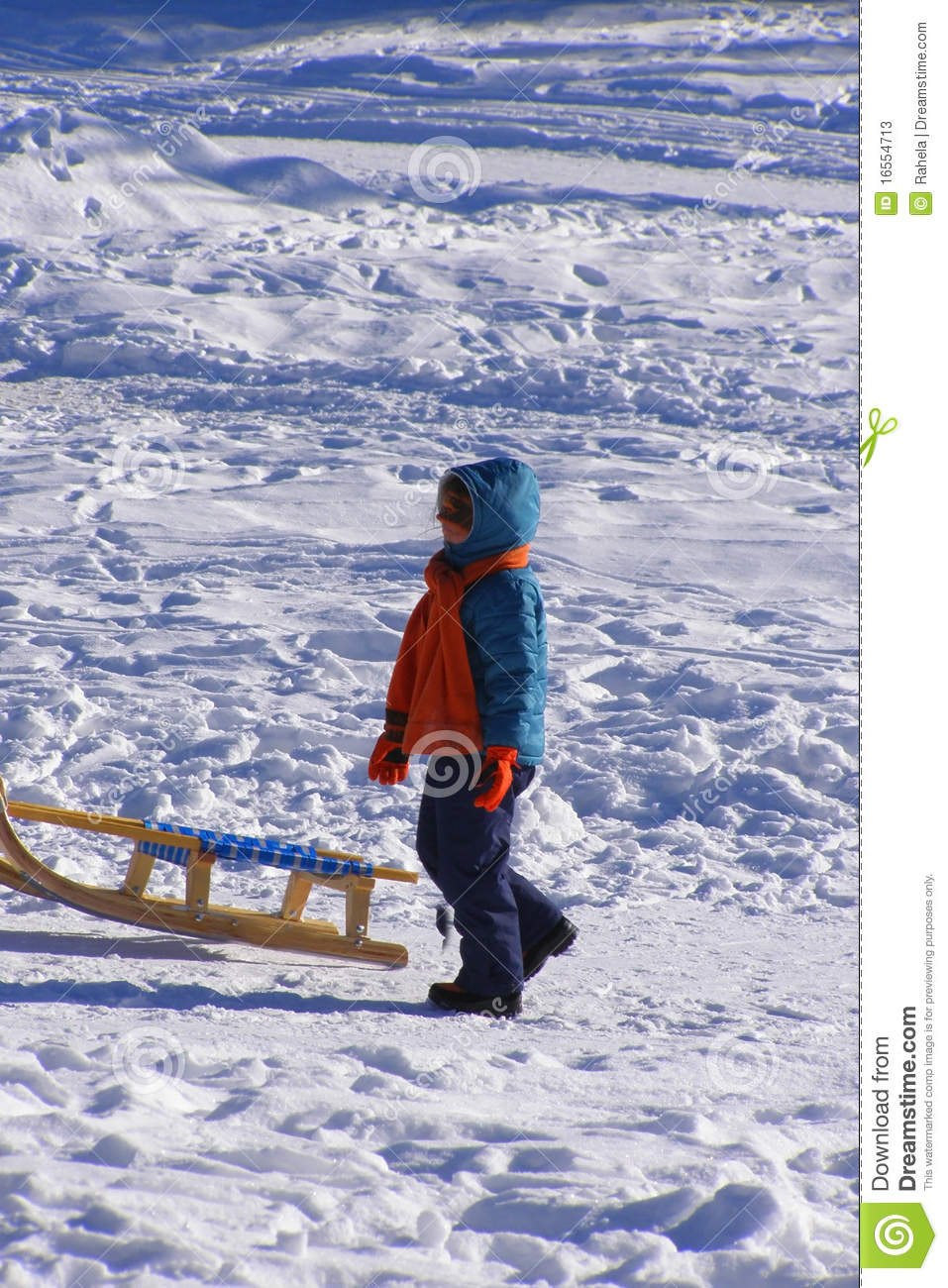 Child 39 s winter vacations stock photos image 16554713 for Vacation in the snow