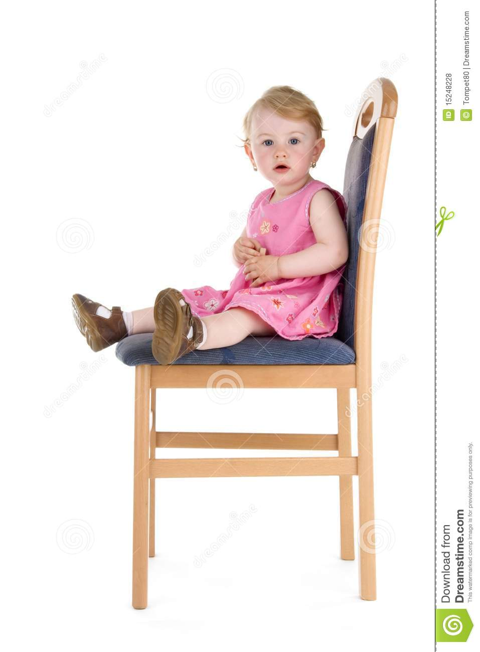 Child sit on chair stock photo image of beauty beautiful for Sitting chairs